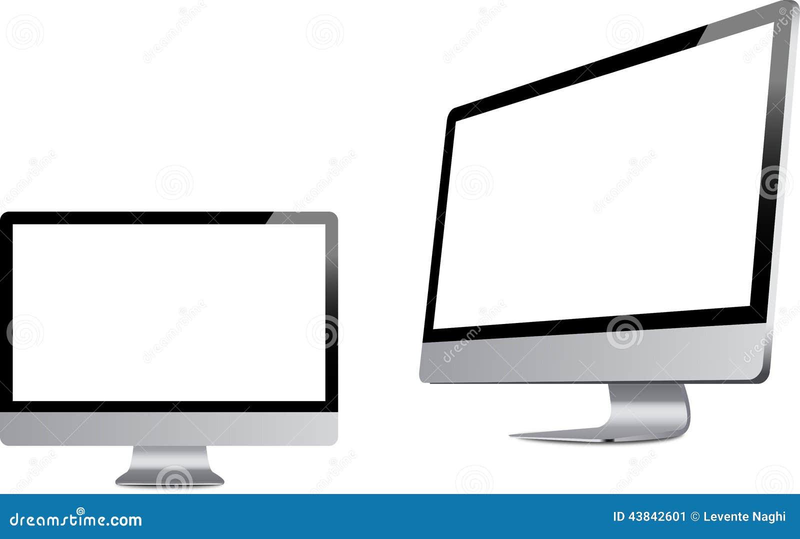 Imac jak monitory
