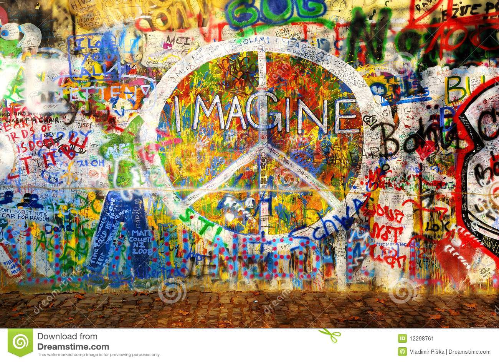 Imagínese la pared