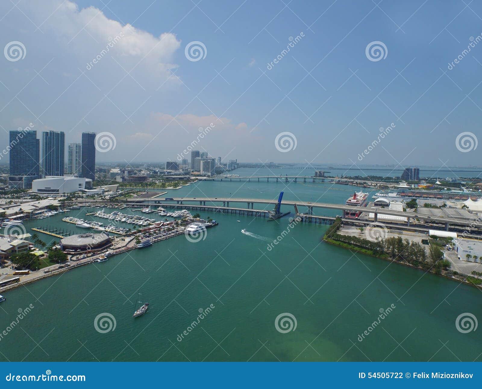 Image aérienne de Miami du centre FL 3