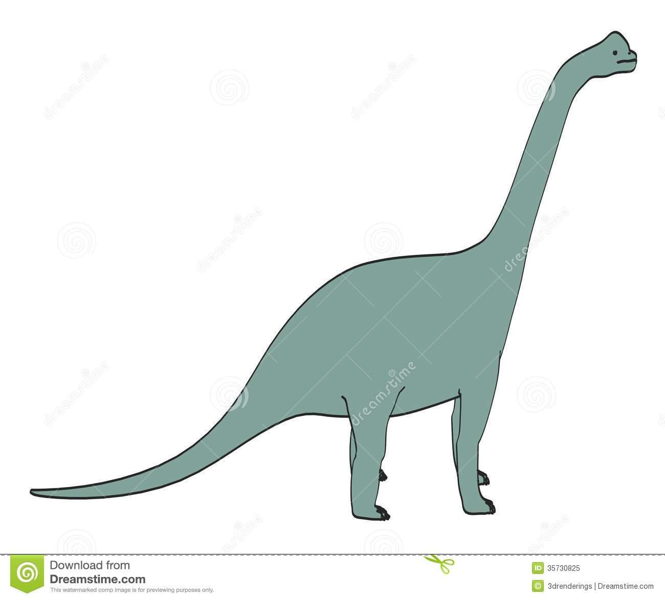 Image Of Brachiosaurus Dino Royalty Free Stock Photo Image 35730825