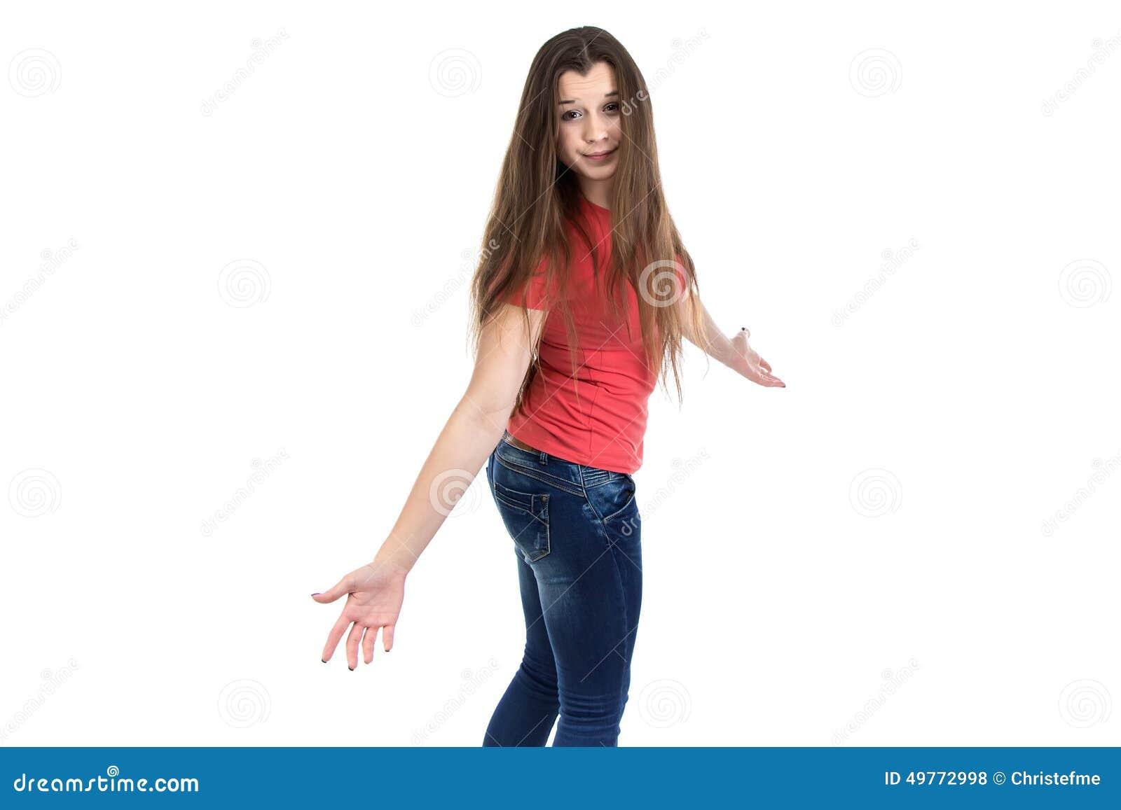 Confused teen