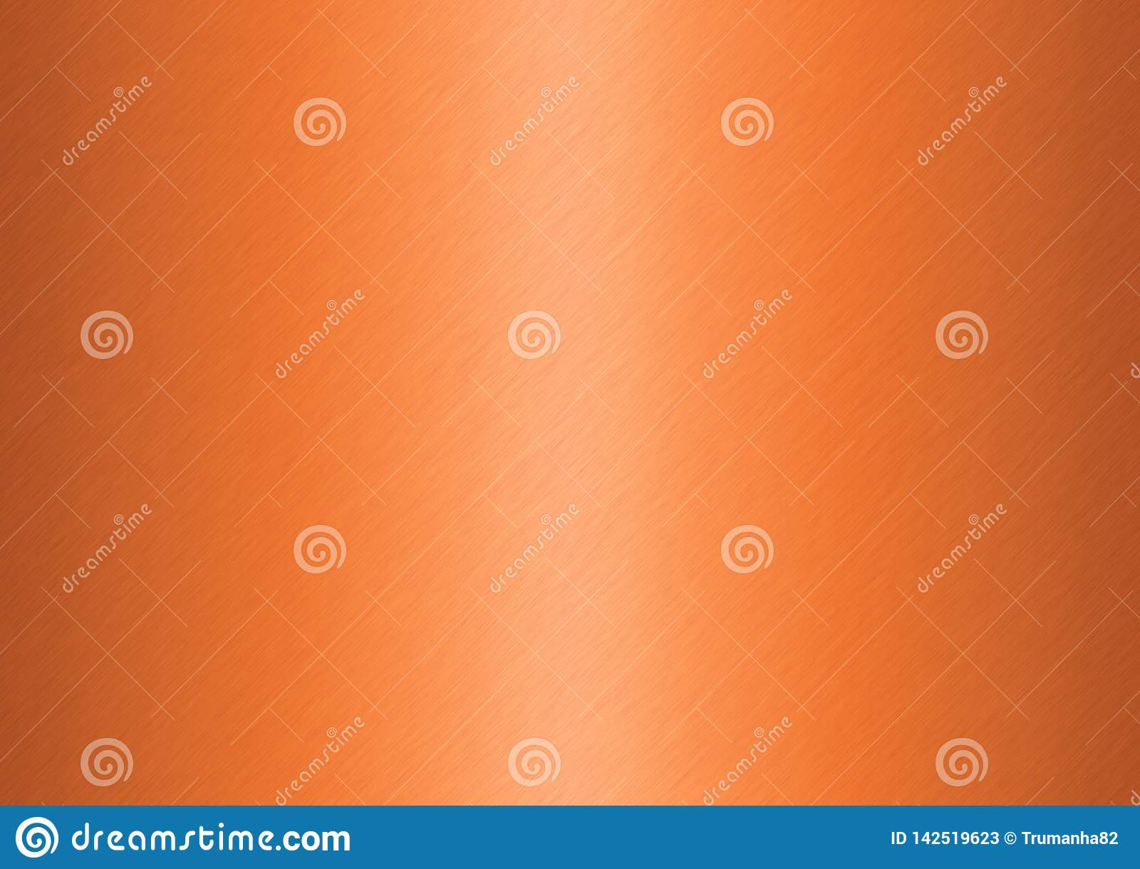 Abstract Brushed Bronze Surface for Background