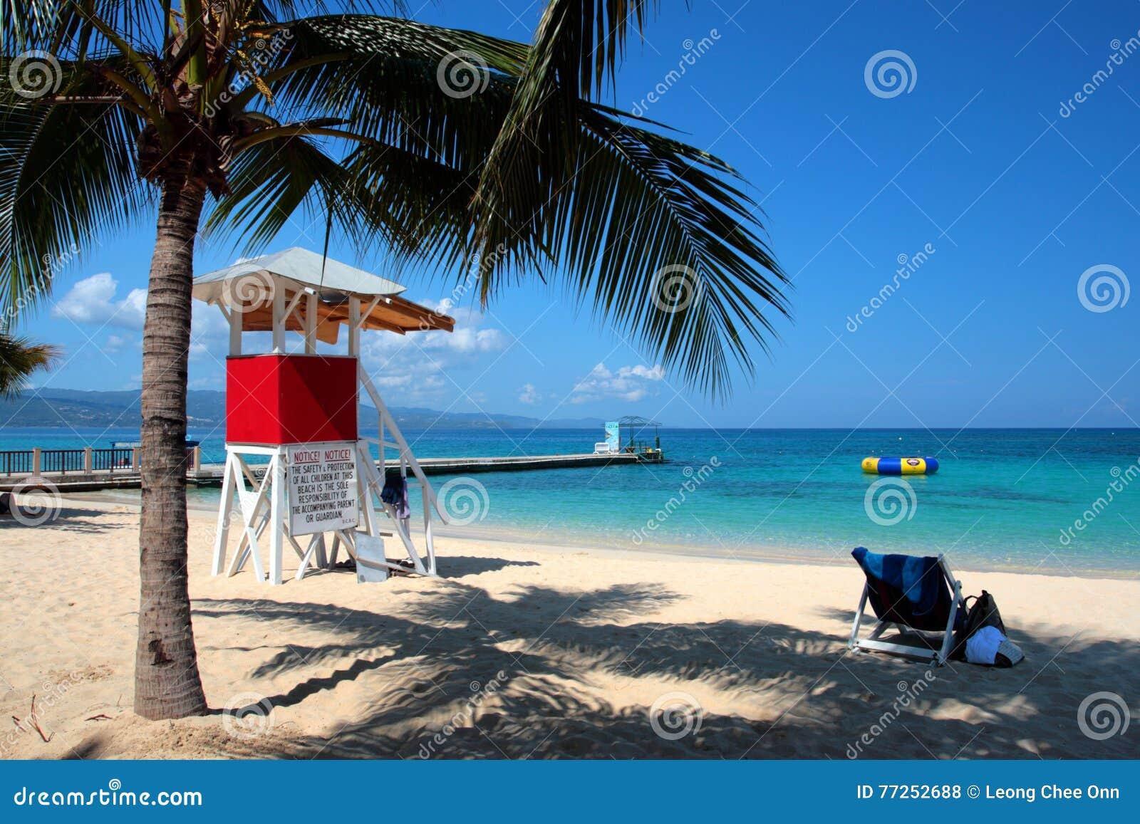 Image courante de Cave Beach Club, Montego Bay, Jamaïque de docteur