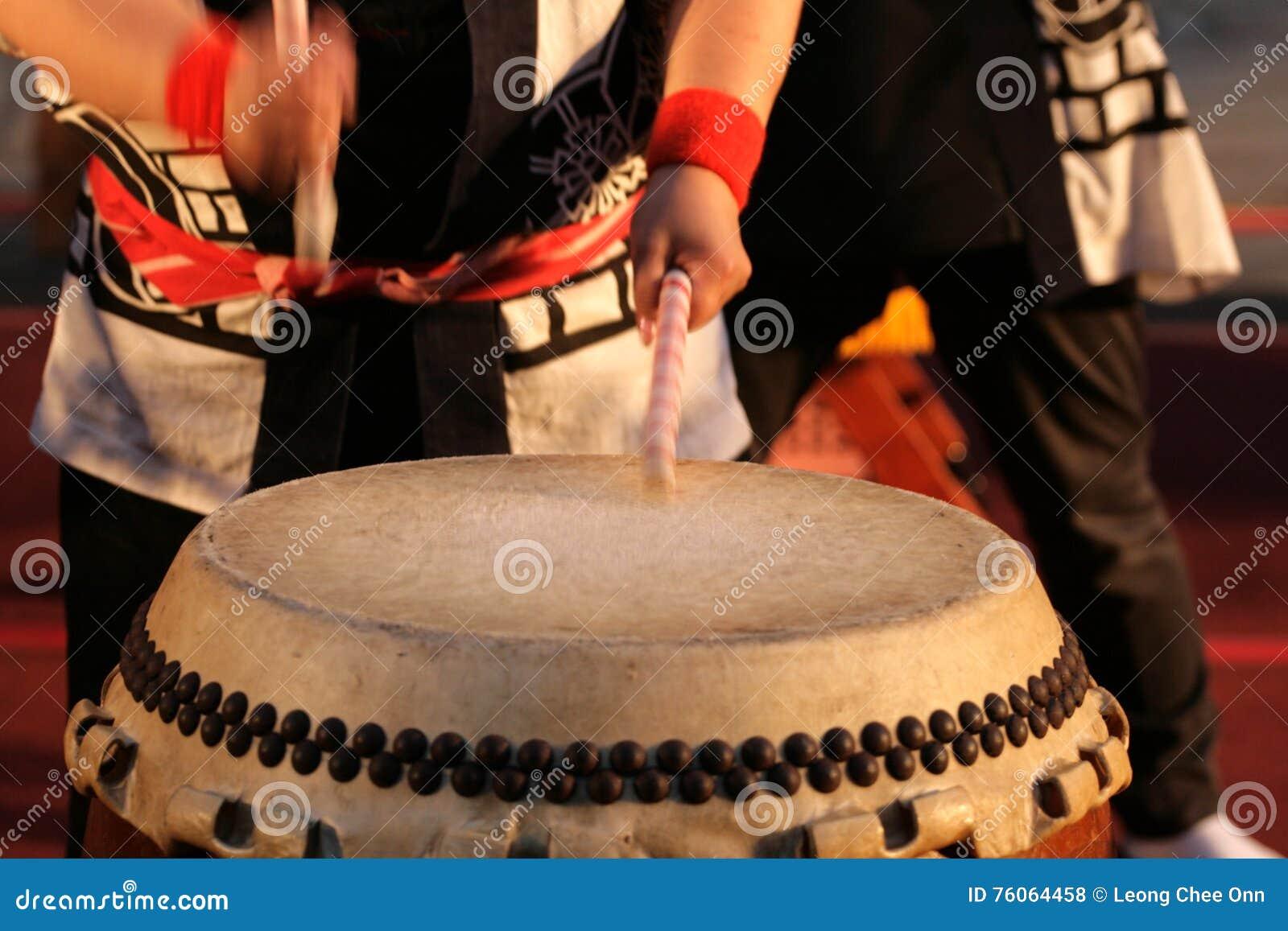 Image courante de Japonais Taiko Drum