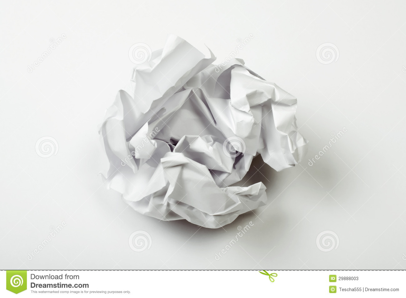 crumpled paper ball stock image. image of efuse, antique - 29888003