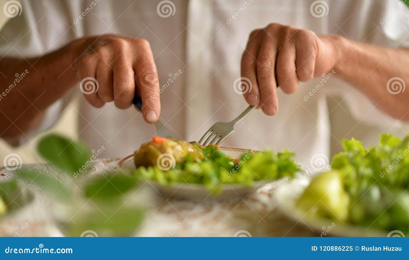 Image cultivée de mangeur d hommes supérieur