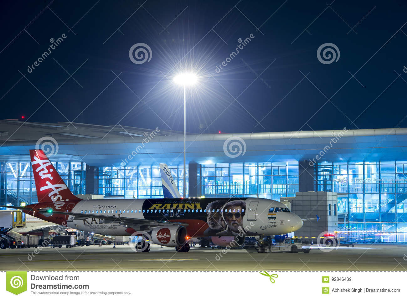 Image d Air Asia A320-Stock