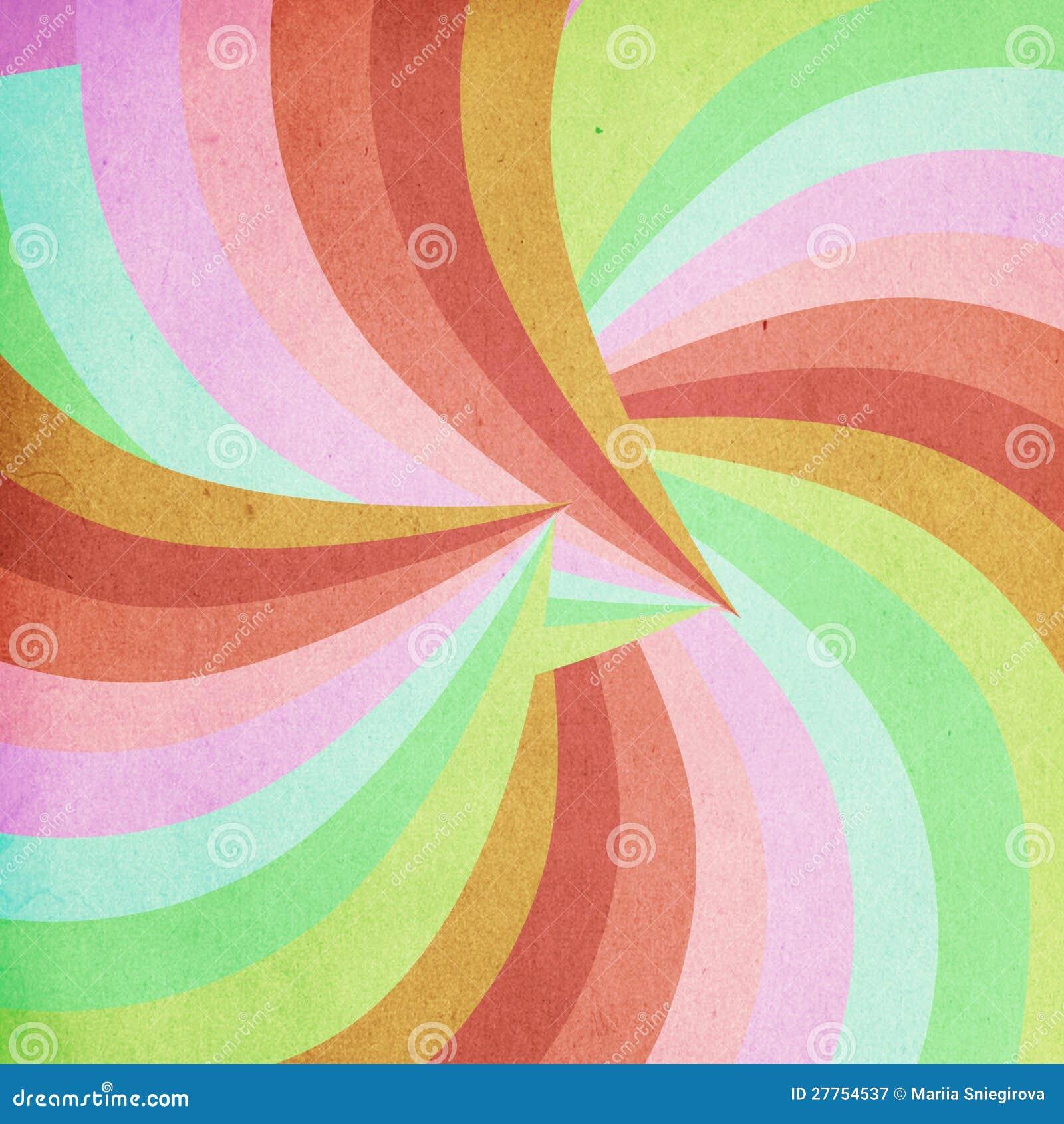 Image d art, configuration colorée
