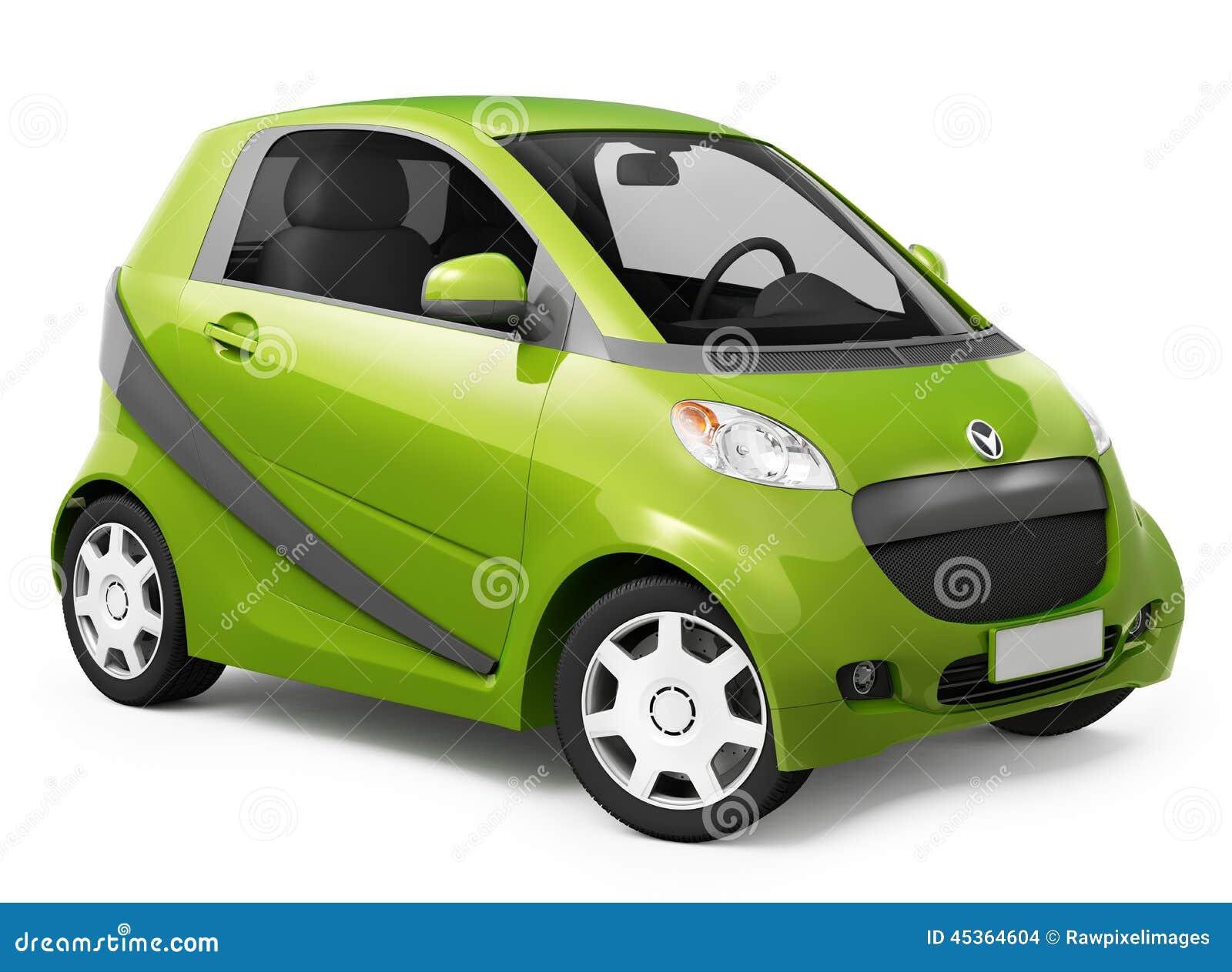 Image 3D de voiture hybride