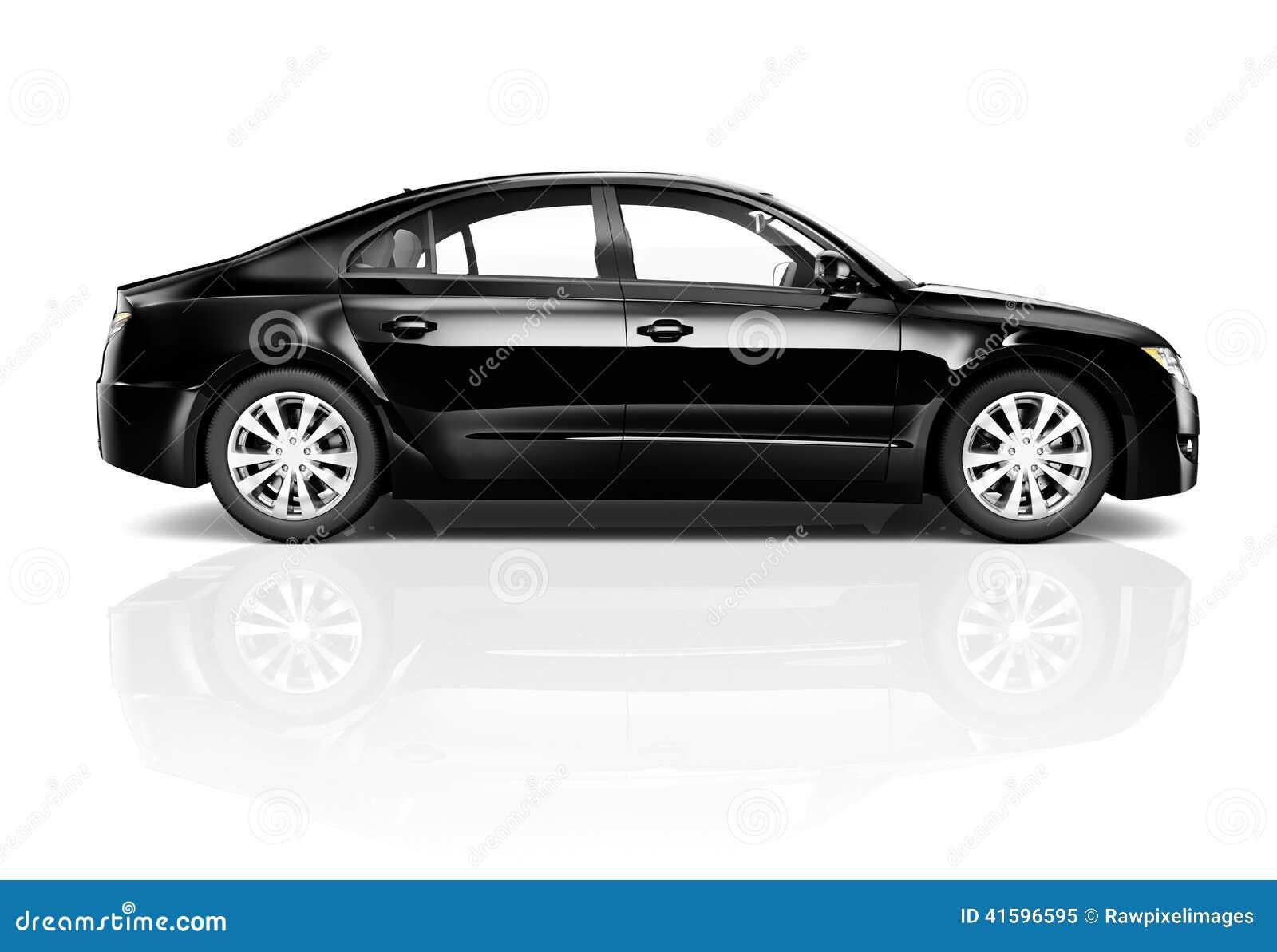 image 3d de voiture noire image stock image du lecteur 41596595. Black Bedroom Furniture Sets. Home Design Ideas