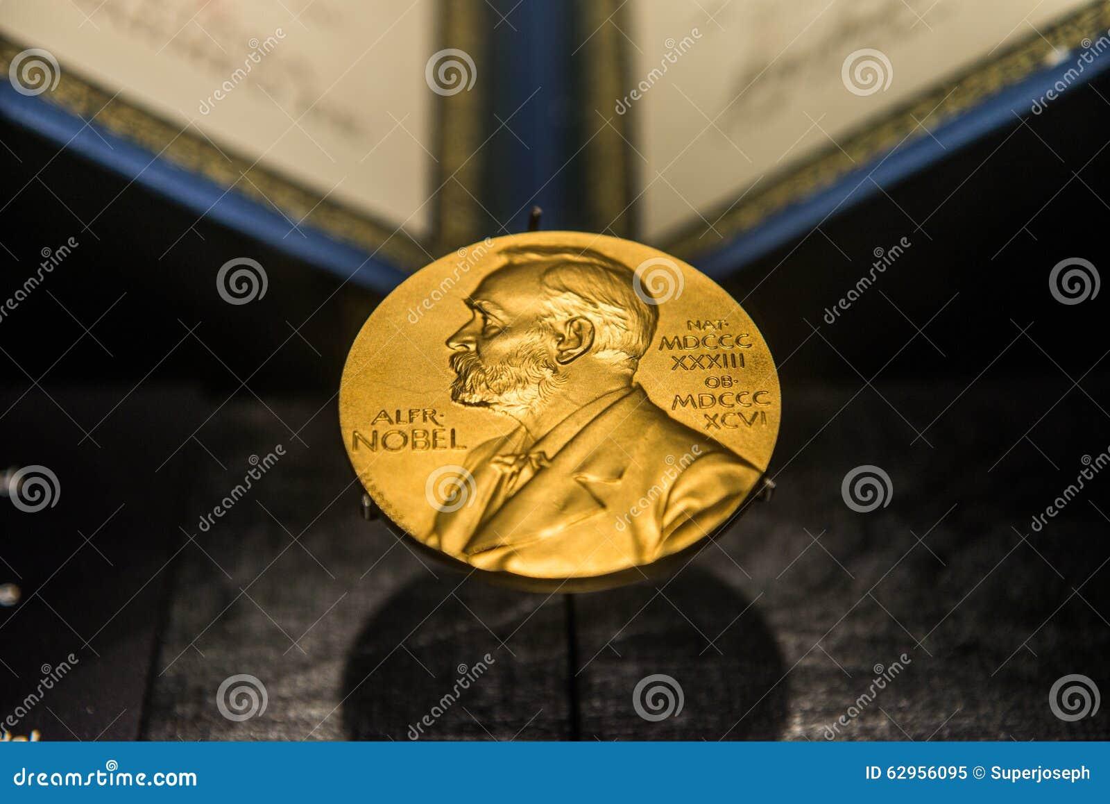 Image d or du prix Nobel