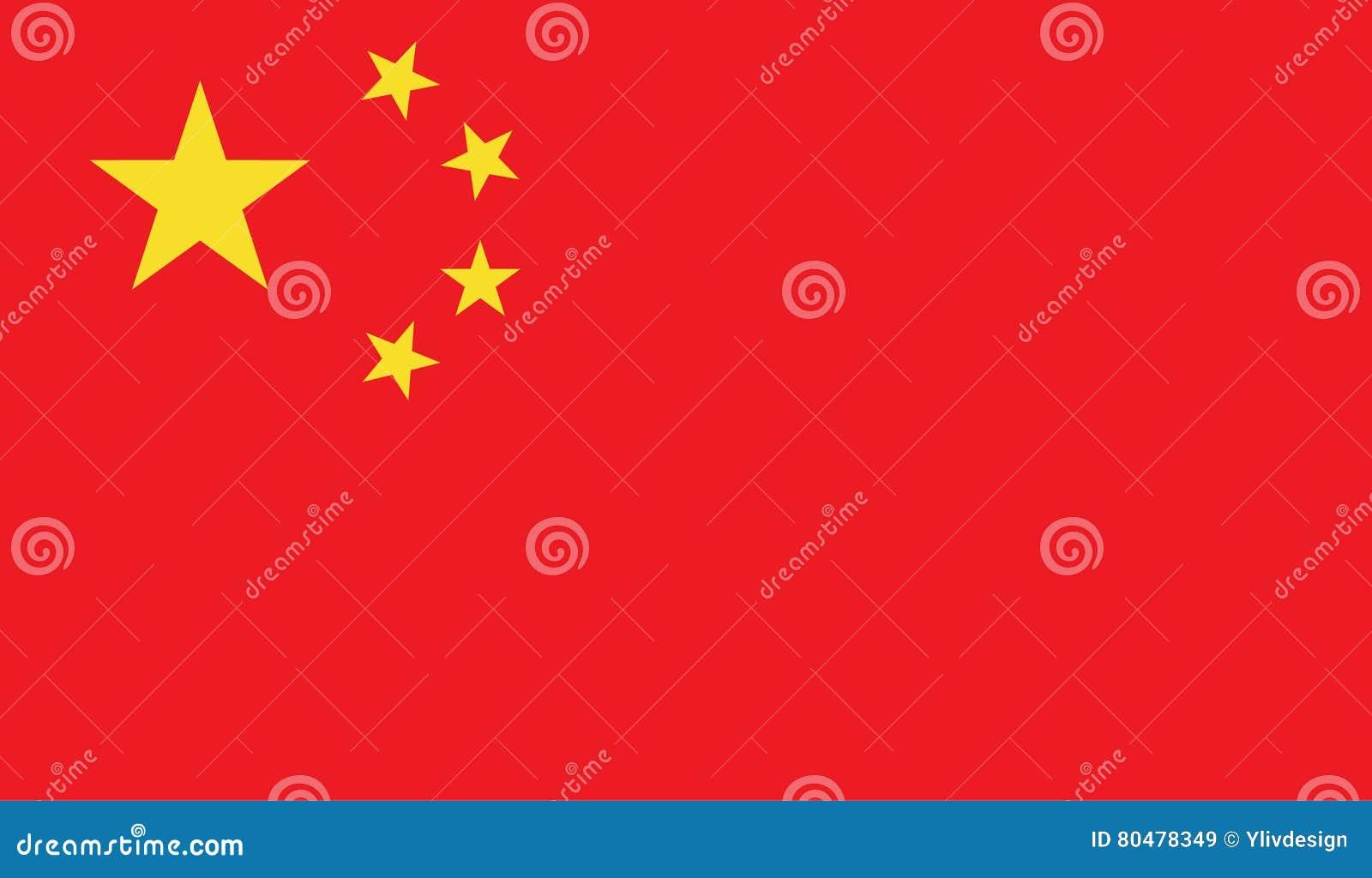 Image de drapeau de la Chine