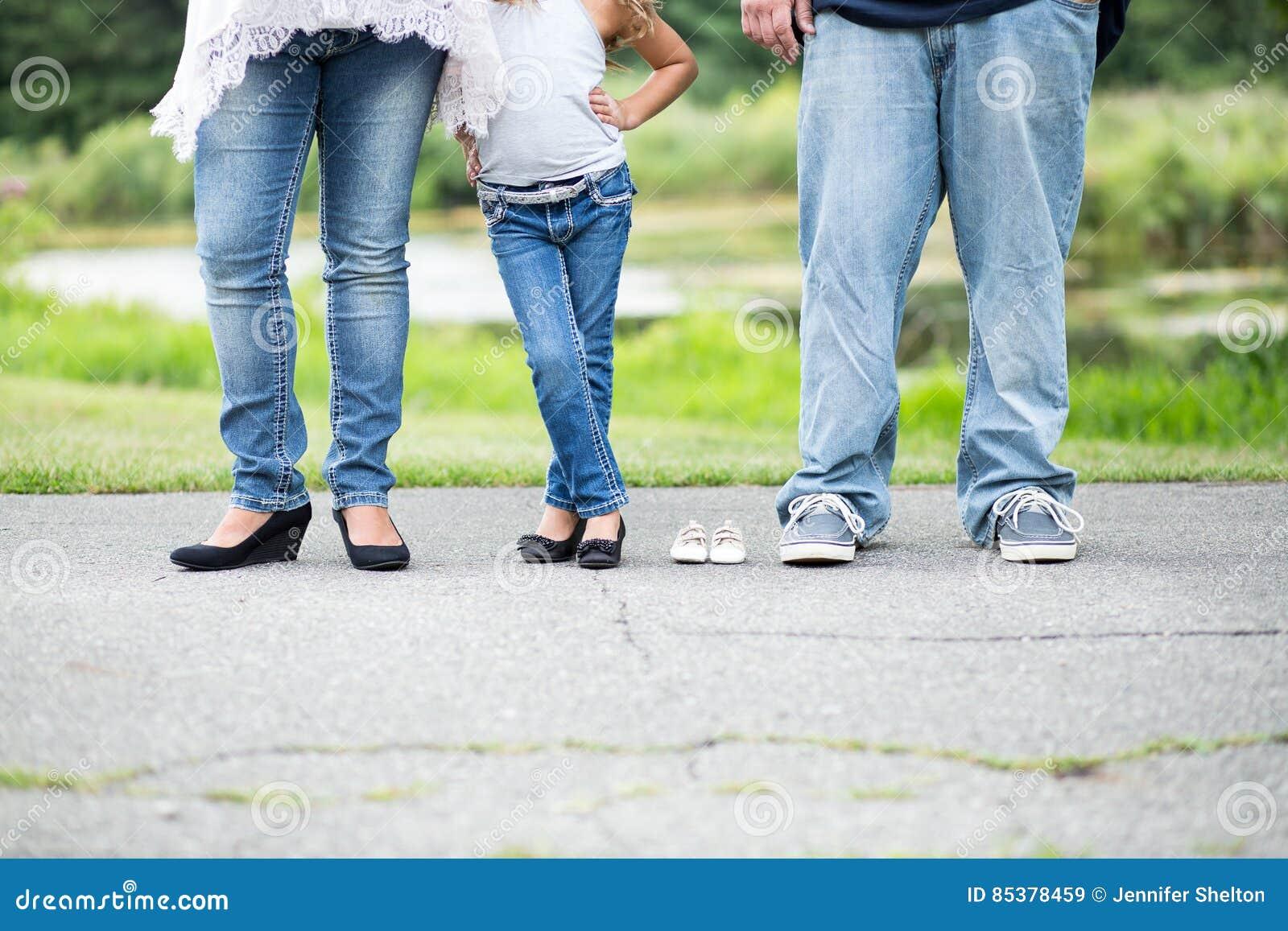 Image de maternité de famille