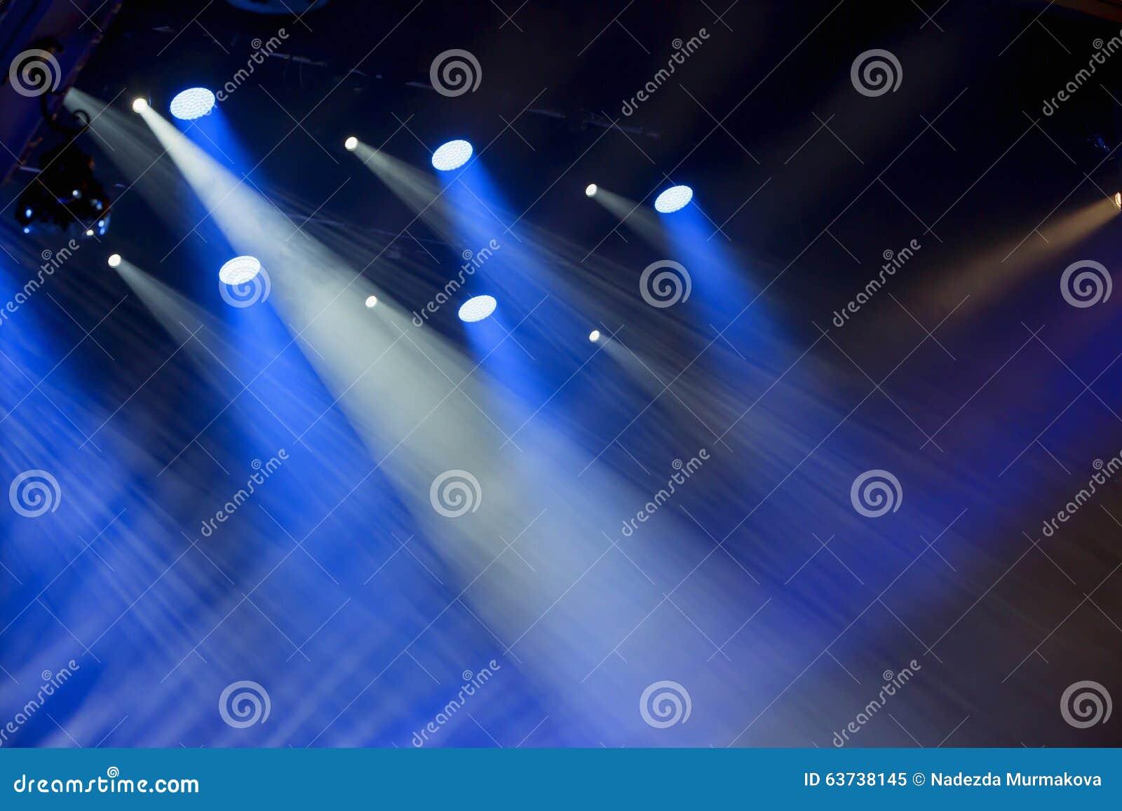 Image des effets de la lumière d étape