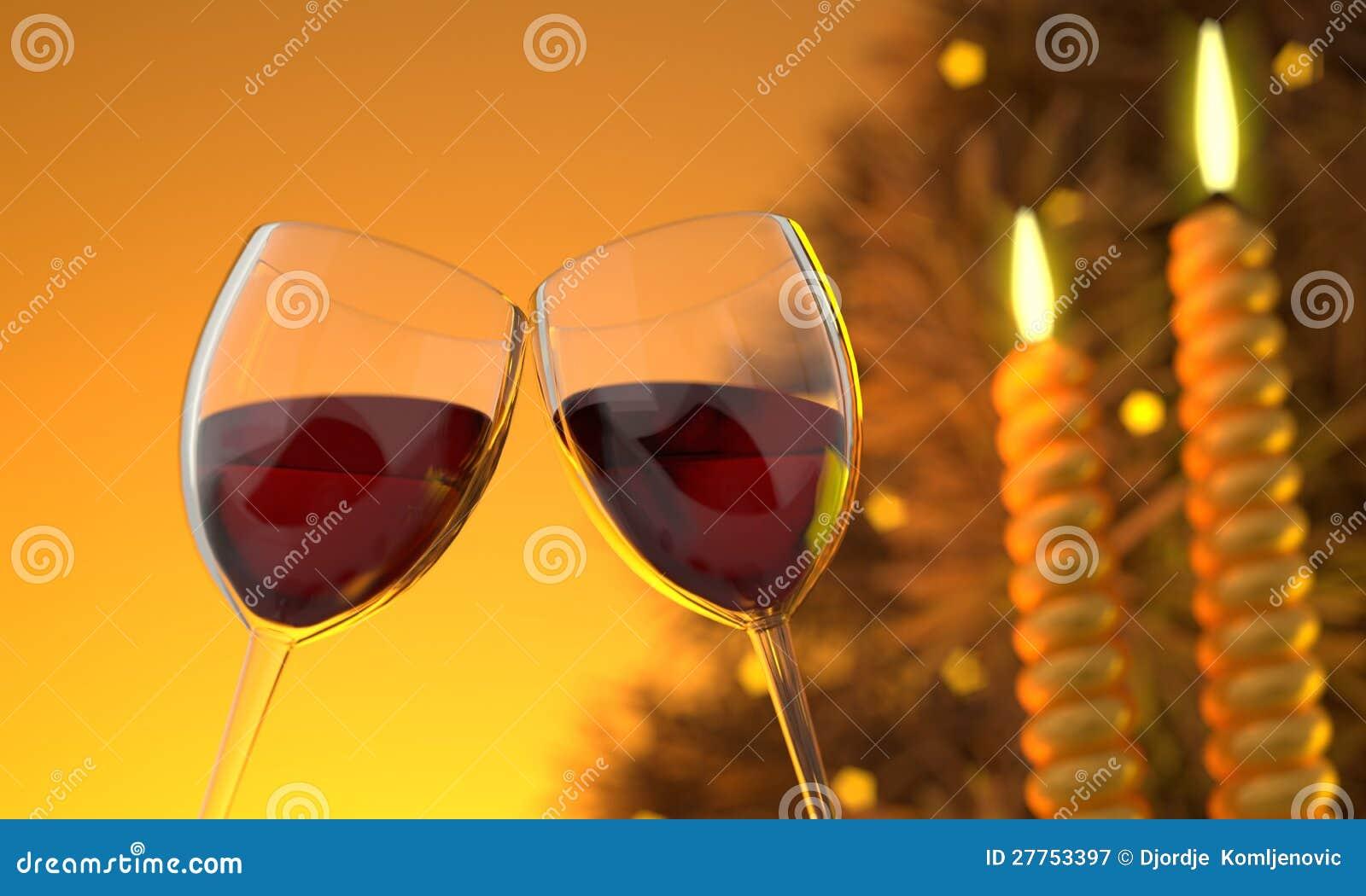 Image deux en verre de vin CG.