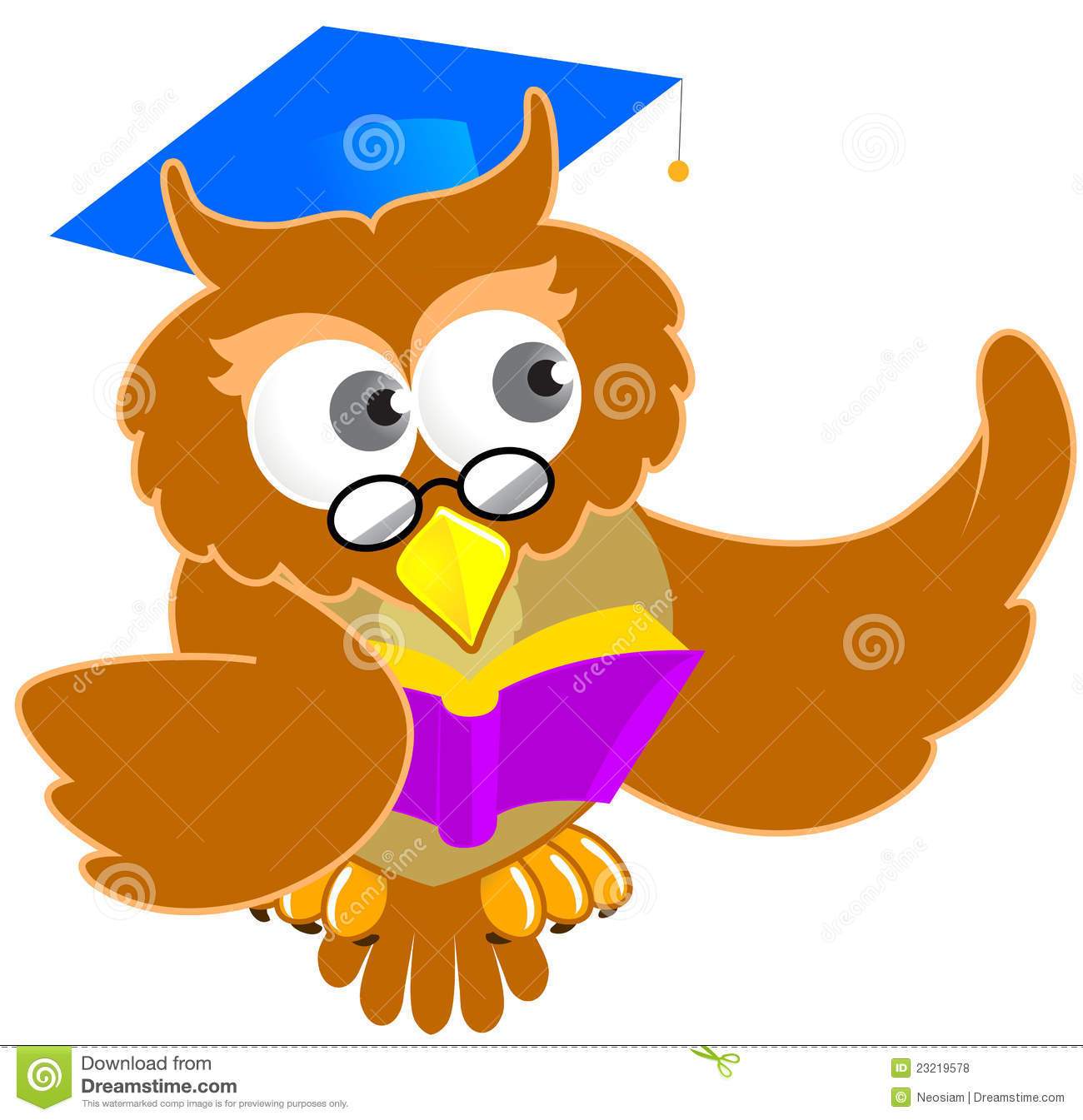 Smart Owl Clip Art Images & Pictures - Becuo