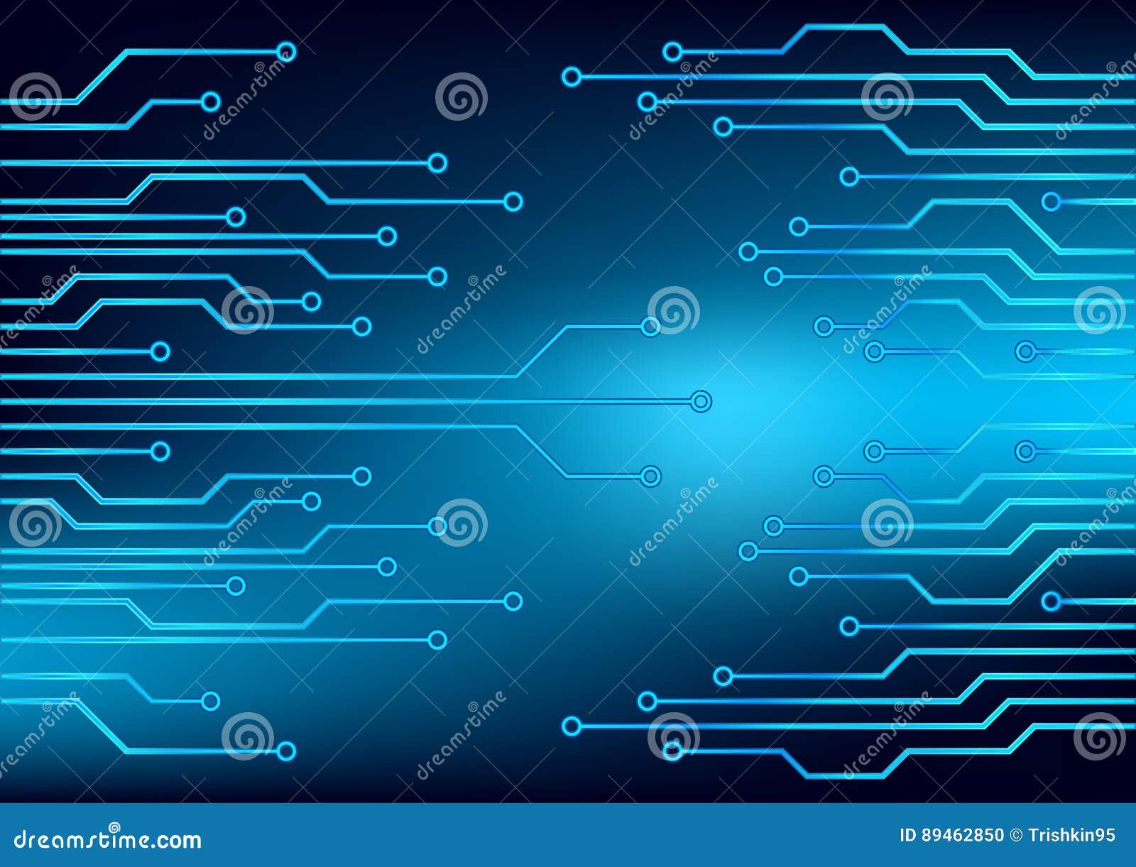 Image Electrical circuit . stock illustration. Illustration of light ...