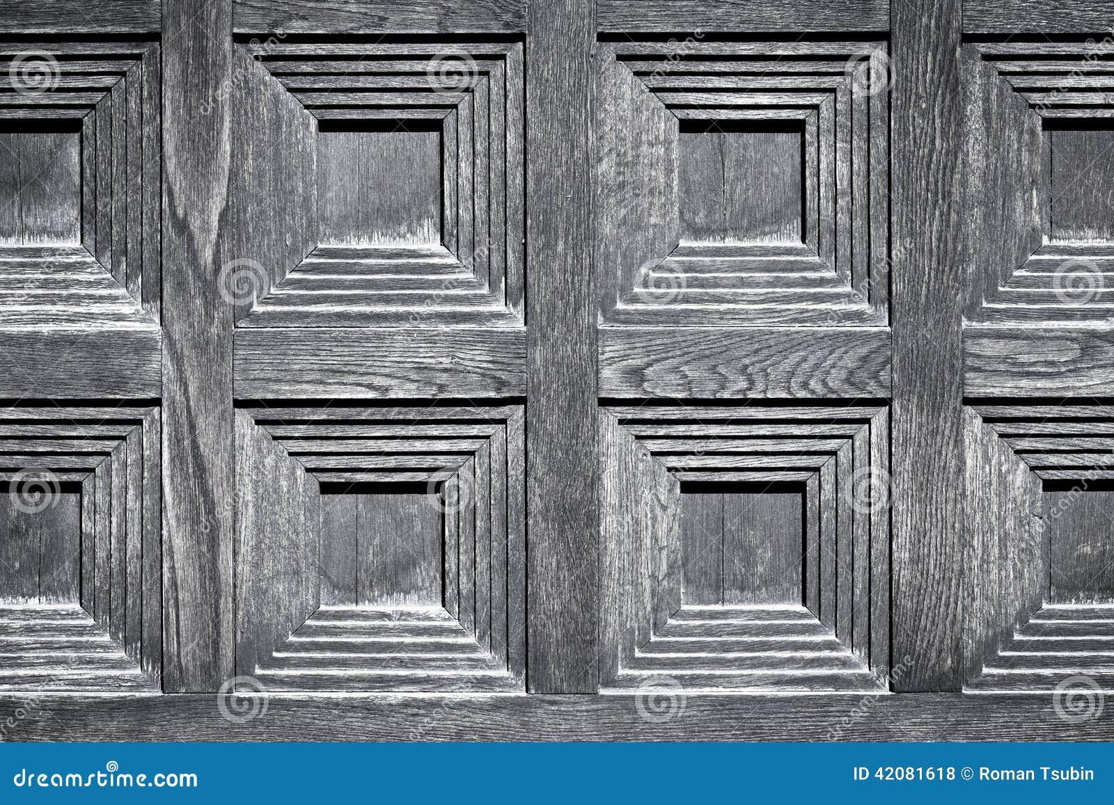 image en gros plan d 39 une porte en bois photo stock image. Black Bedroom Furniture Sets. Home Design Ideas