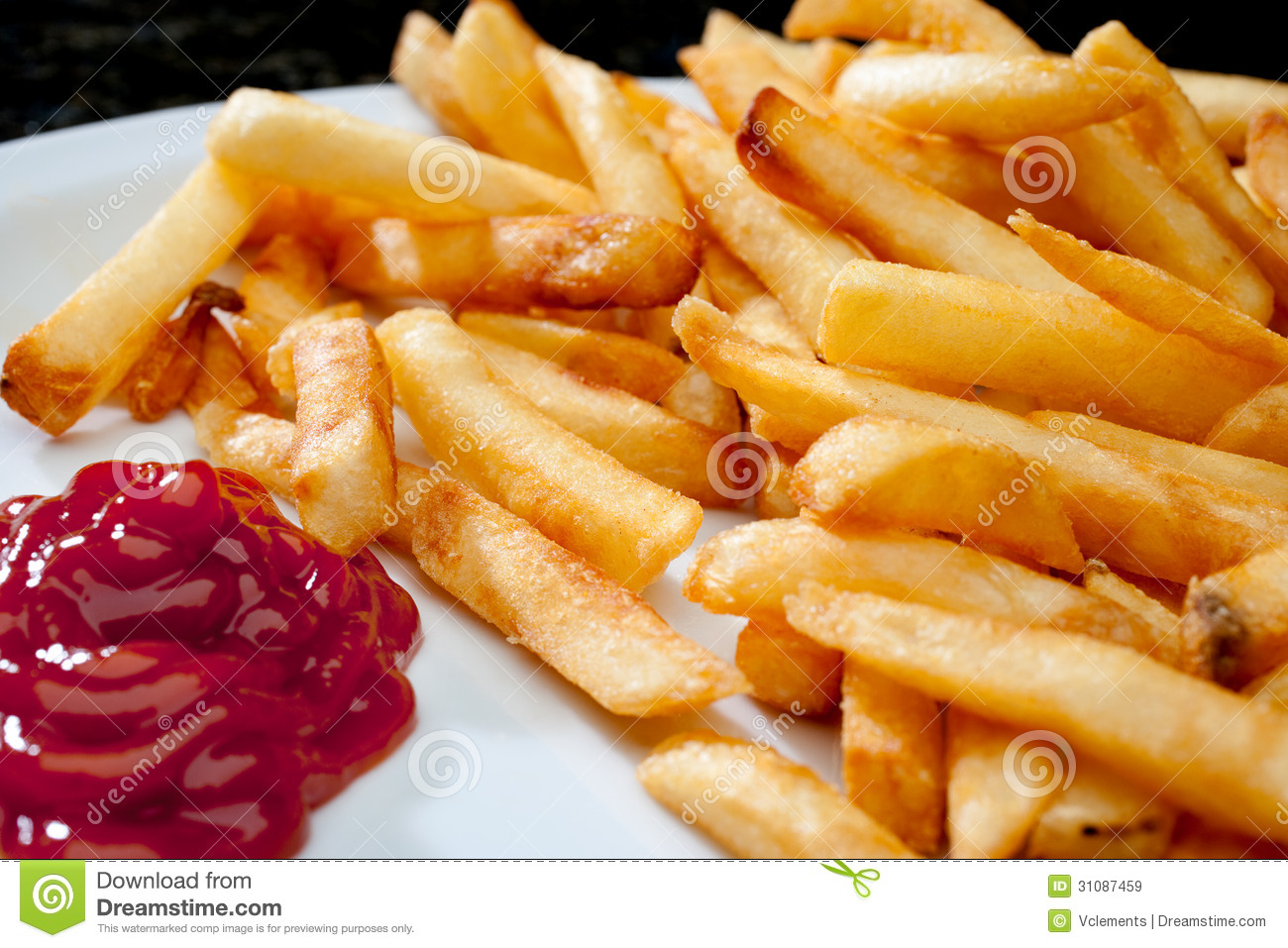 french fries with ketchup - photo #22