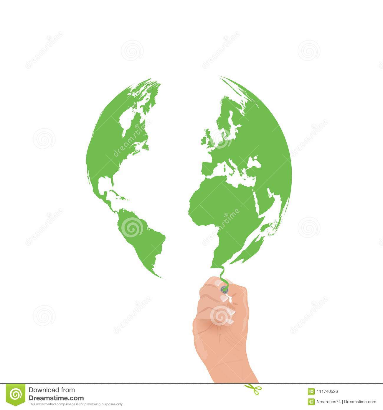 Earth draw green stock illustration illustration of idea 111740526 image of a hand drawing a green world map gumiabroncs Gallery
