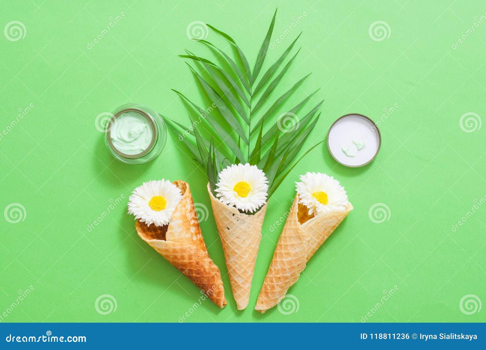 Image Of Homemade Cosmetics Ingredients  Aroma Theme Stock Photo