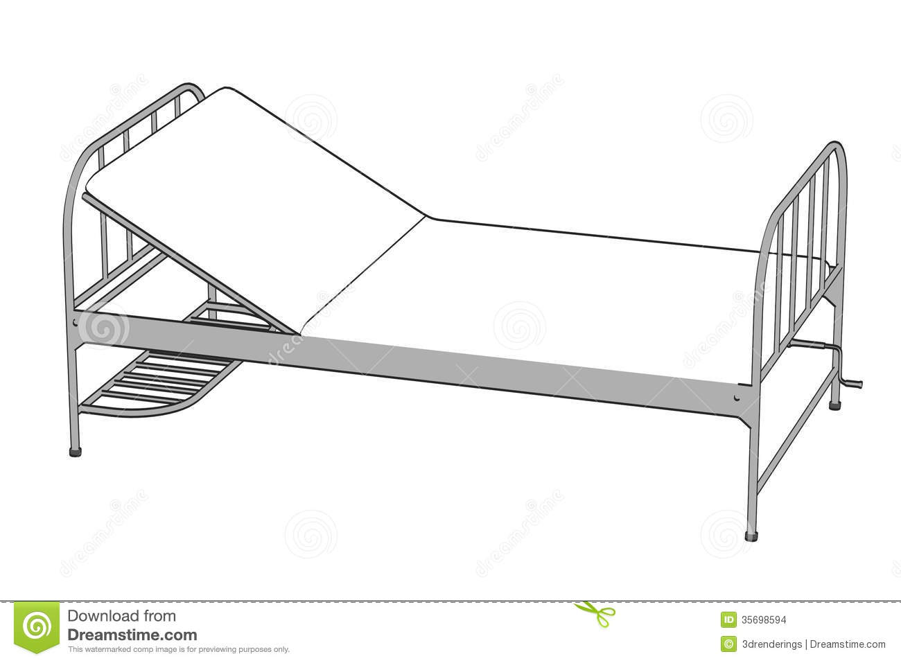 Image Of Hospital Bed