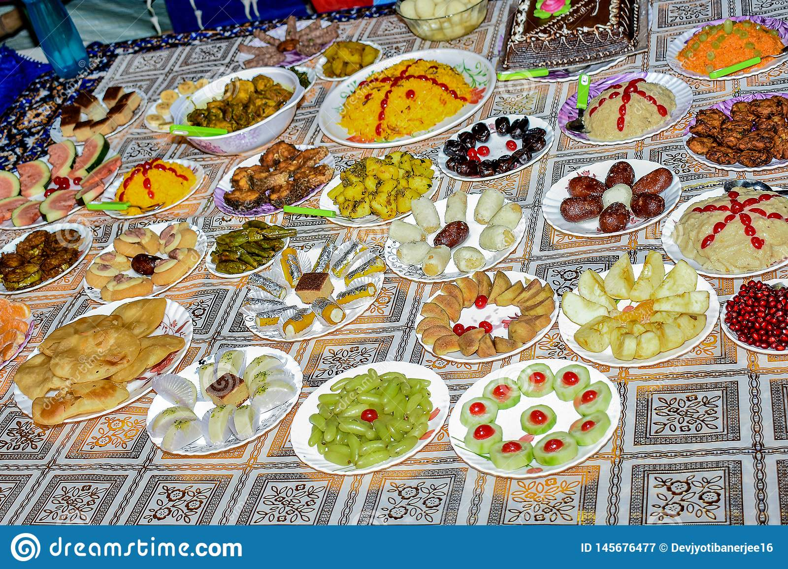 This is a image of Indian dishes. Given the range of diversity in soil type, climate and occupations, these cuisines vary