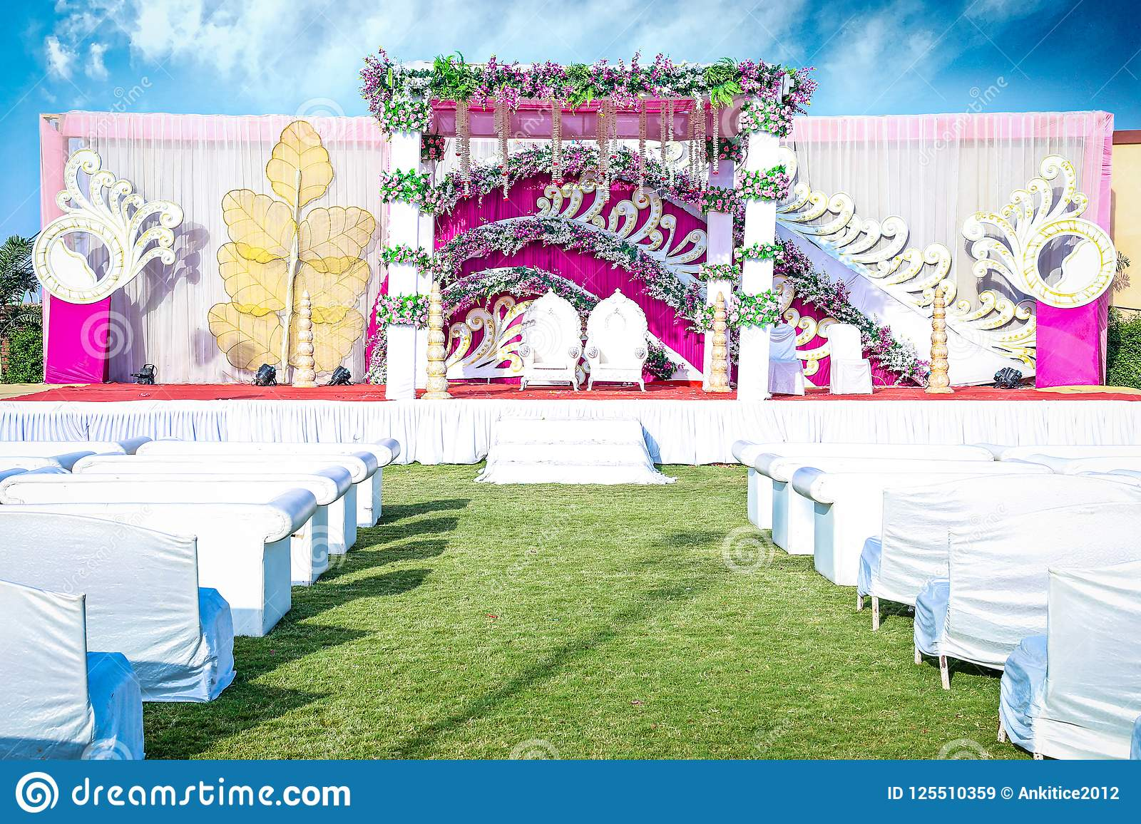 Indian Wedding Event Mandap Decoration Ideas For Marriage Ceremony