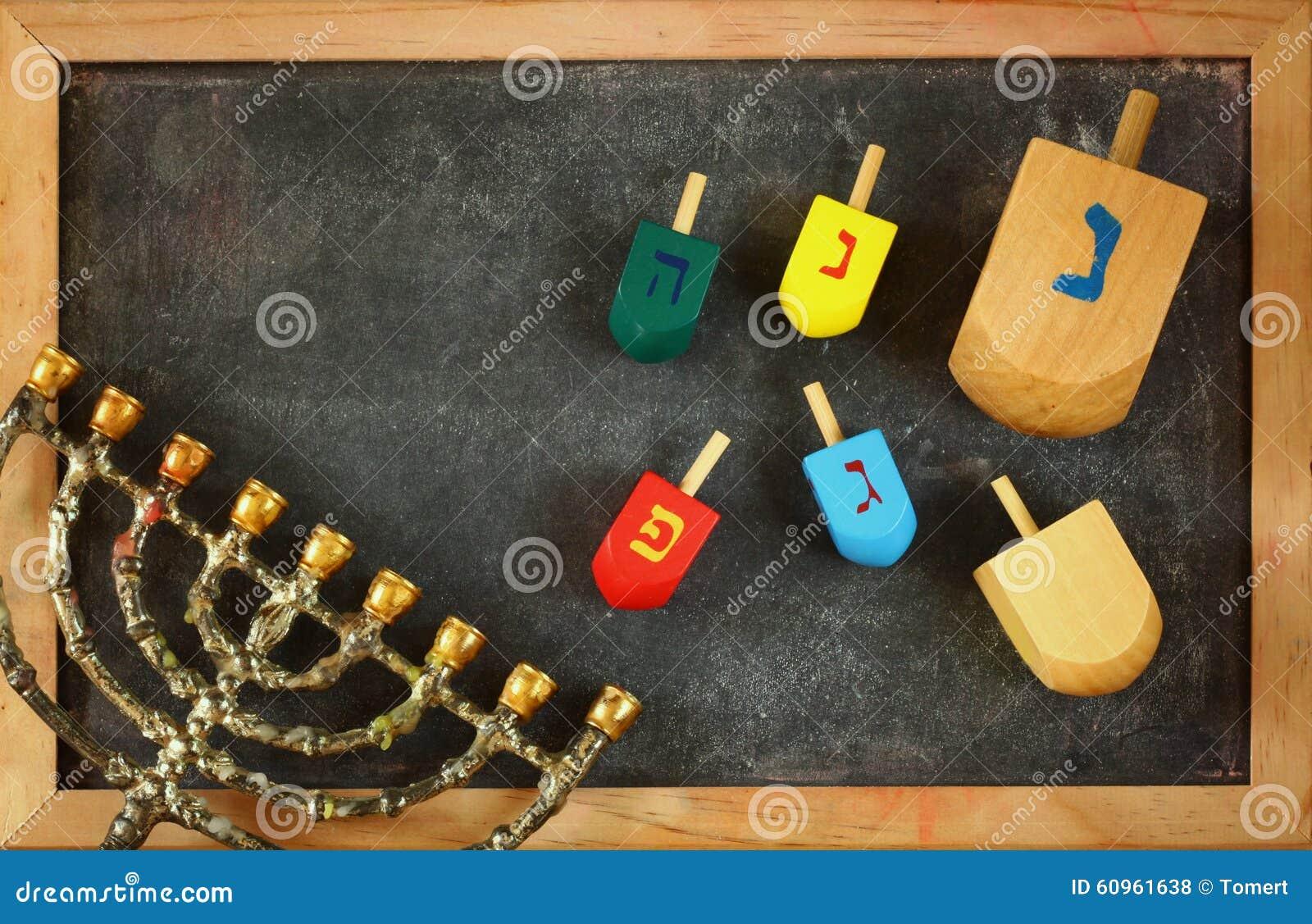 Image of jewish holiday Hanukkah.