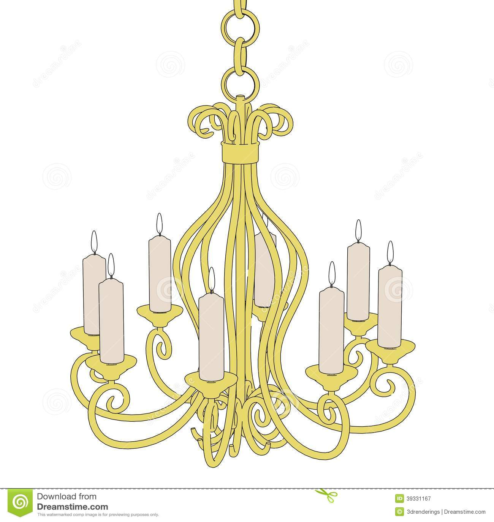Image of old chandelier stock illustration illustration of royalty free stock photo arubaitofo Gallery