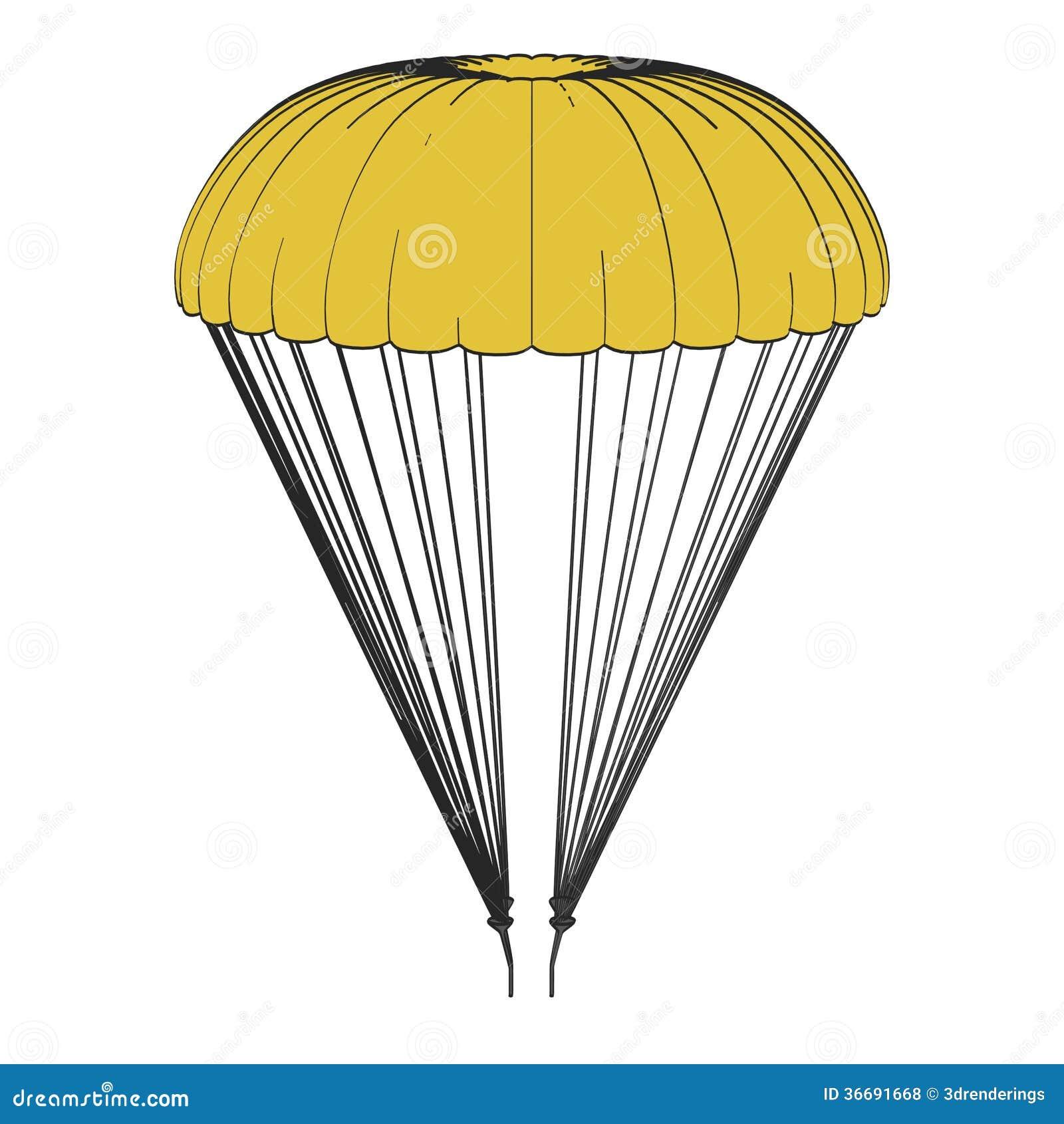 cartoon clipart parachute - photo #31