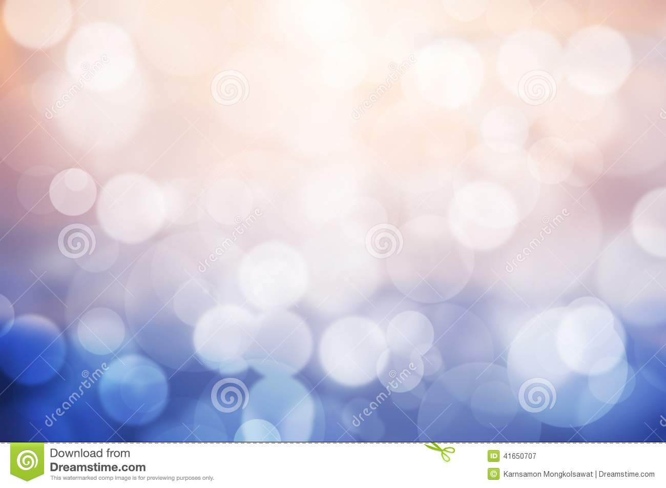 Image of pink and blue bokeh background