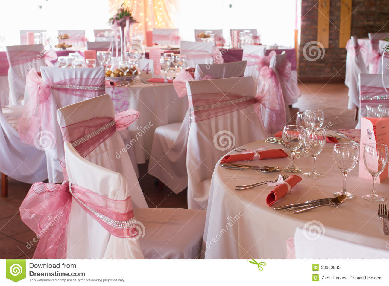an image of tables setting at a luxury wedding hall stock image image of fashion class 33660843. Black Bedroom Furniture Sets. Home Design Ideas
