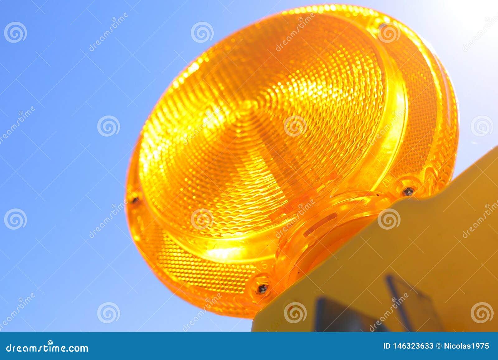 Traffic Barricade lamp