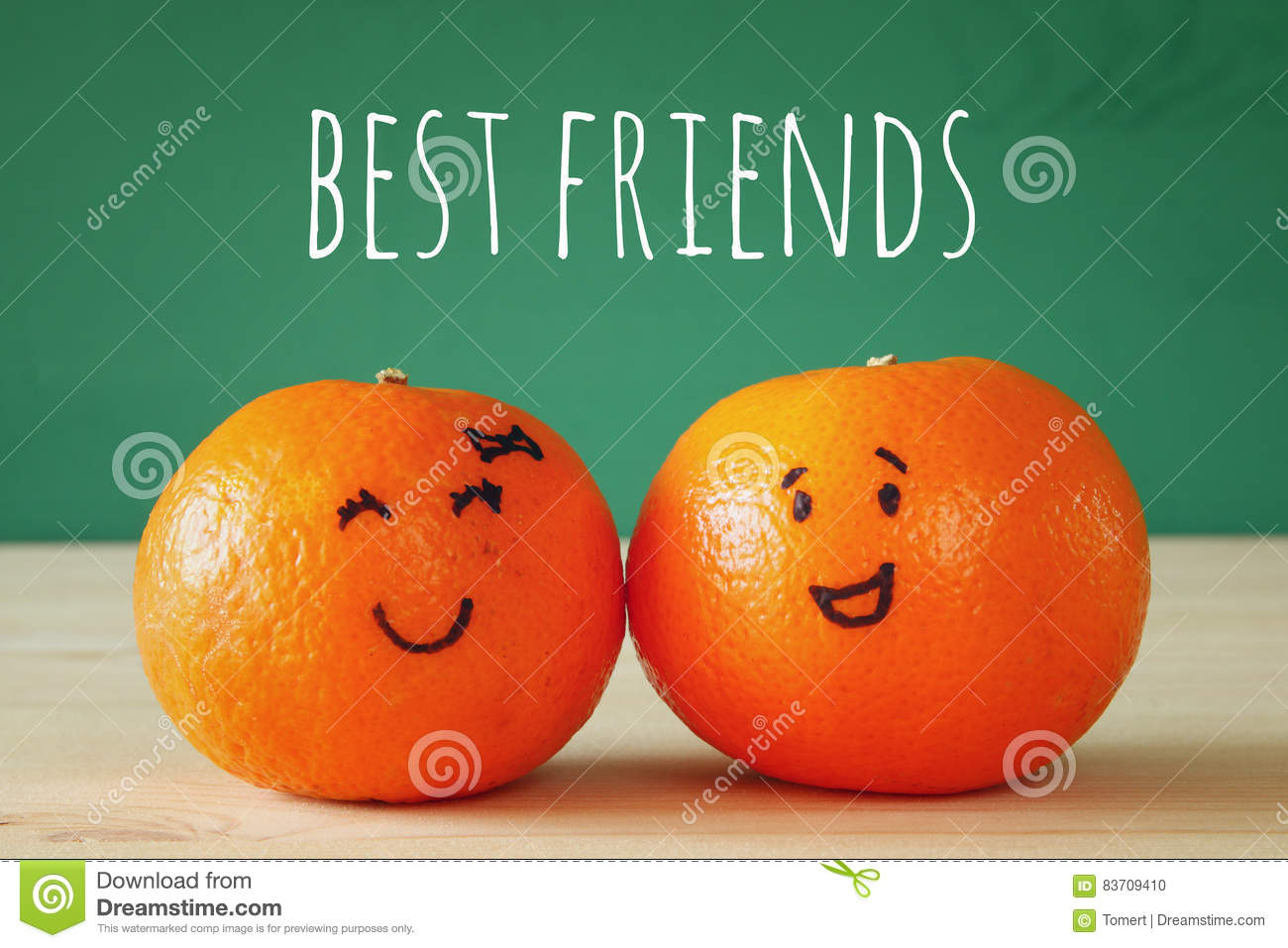 Image Of Two Clementines With Drawn Smiley Faces Stock Photo Image