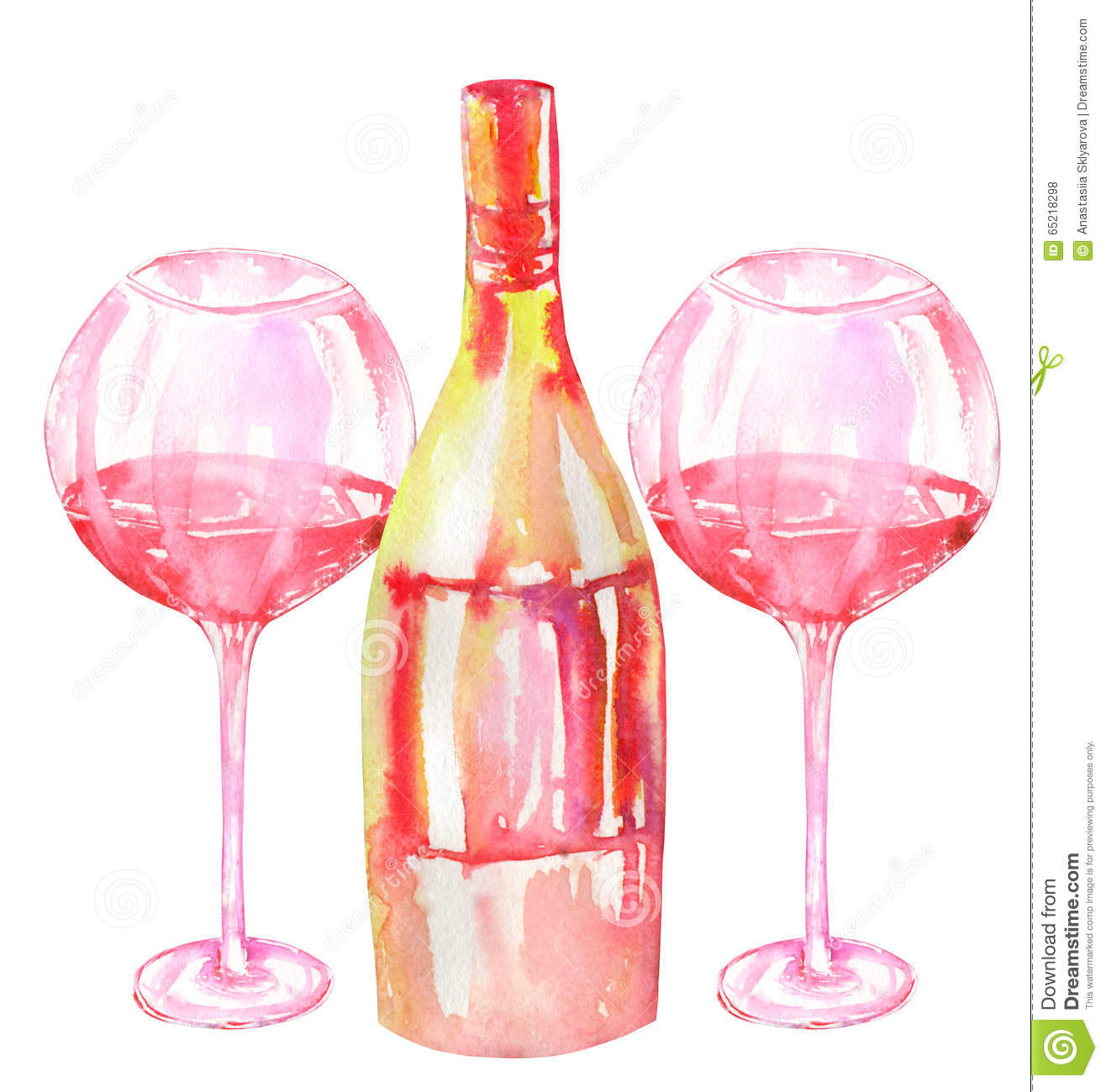 Hand Painted Wine Glasses Prices