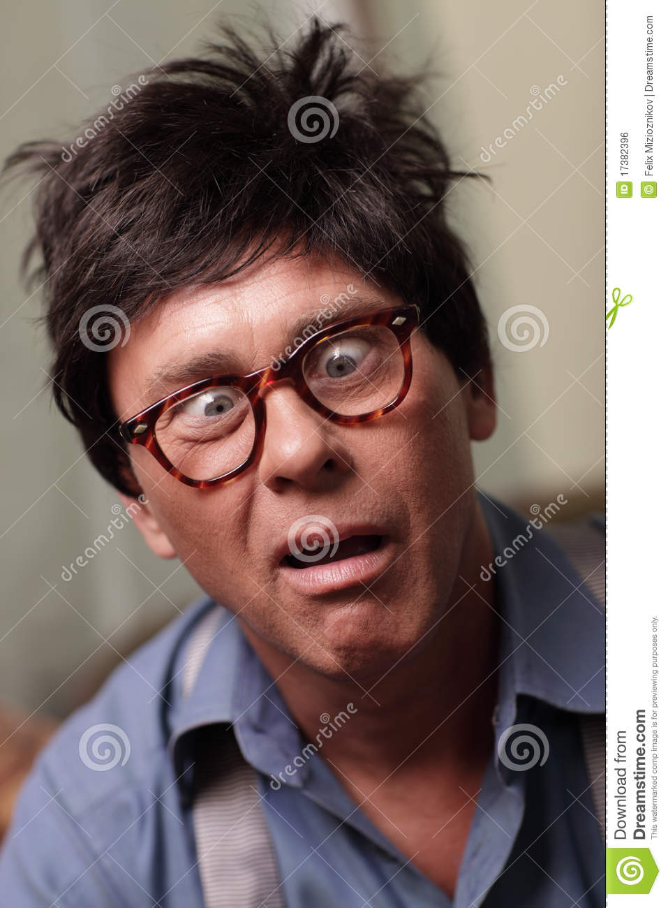 Weird Guy With Glasses 2