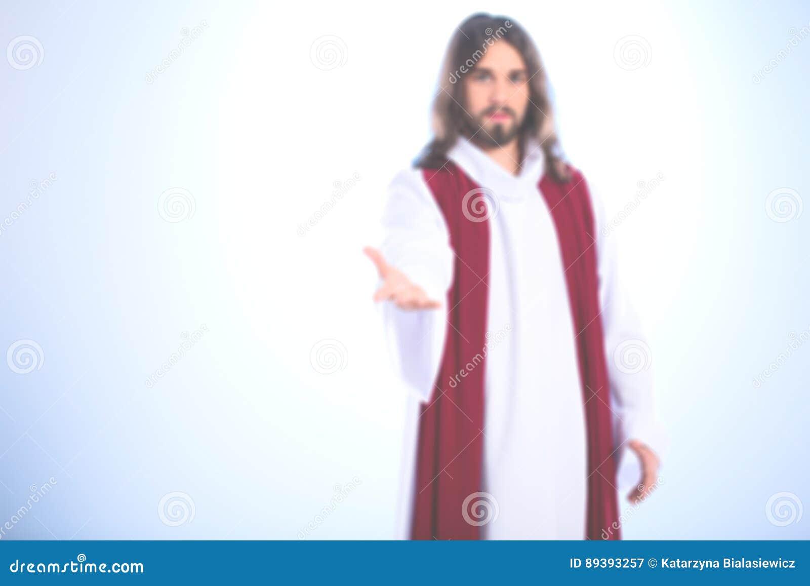 Imagem borrada de Jesus Christ