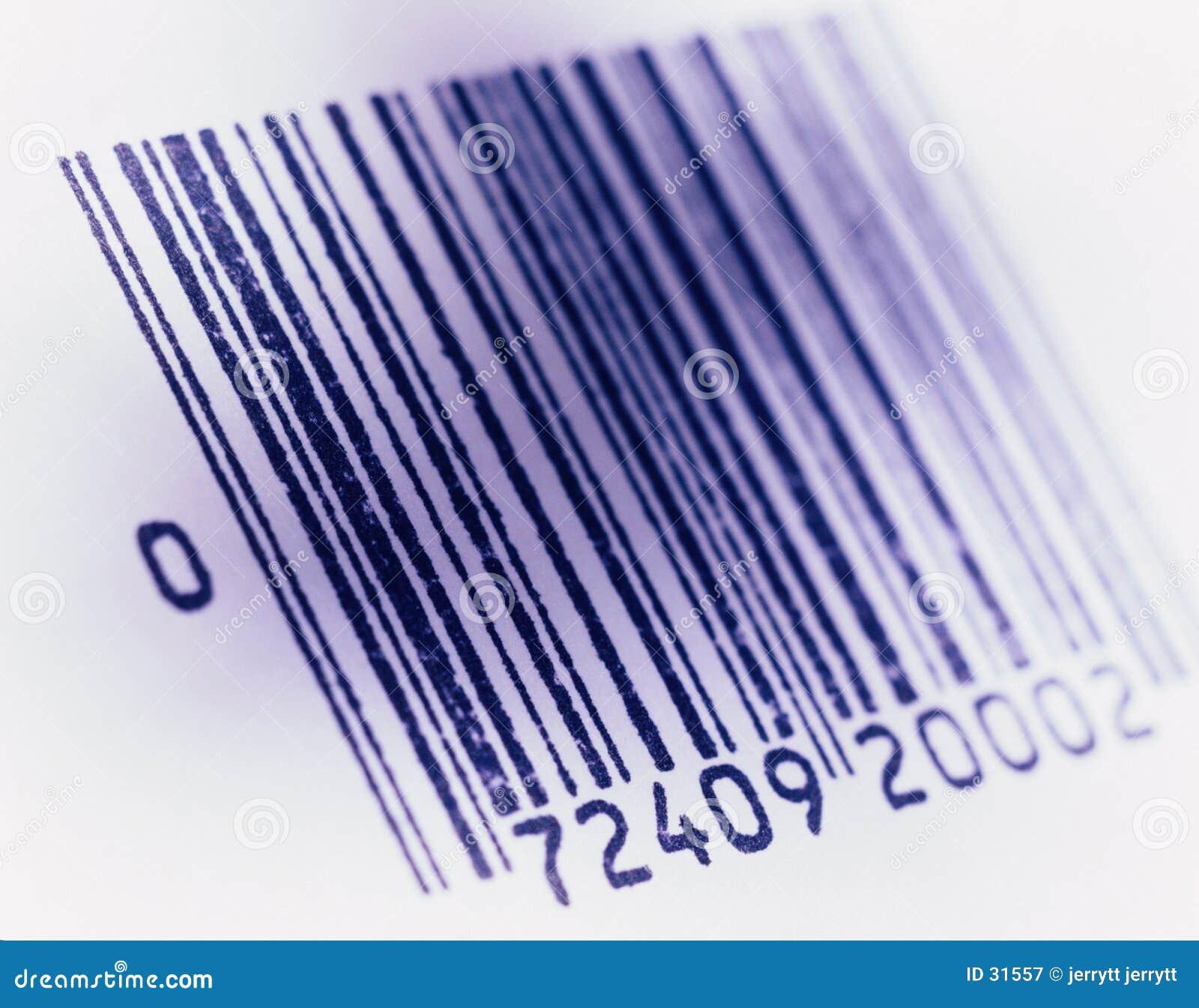 Imagem com código de barras