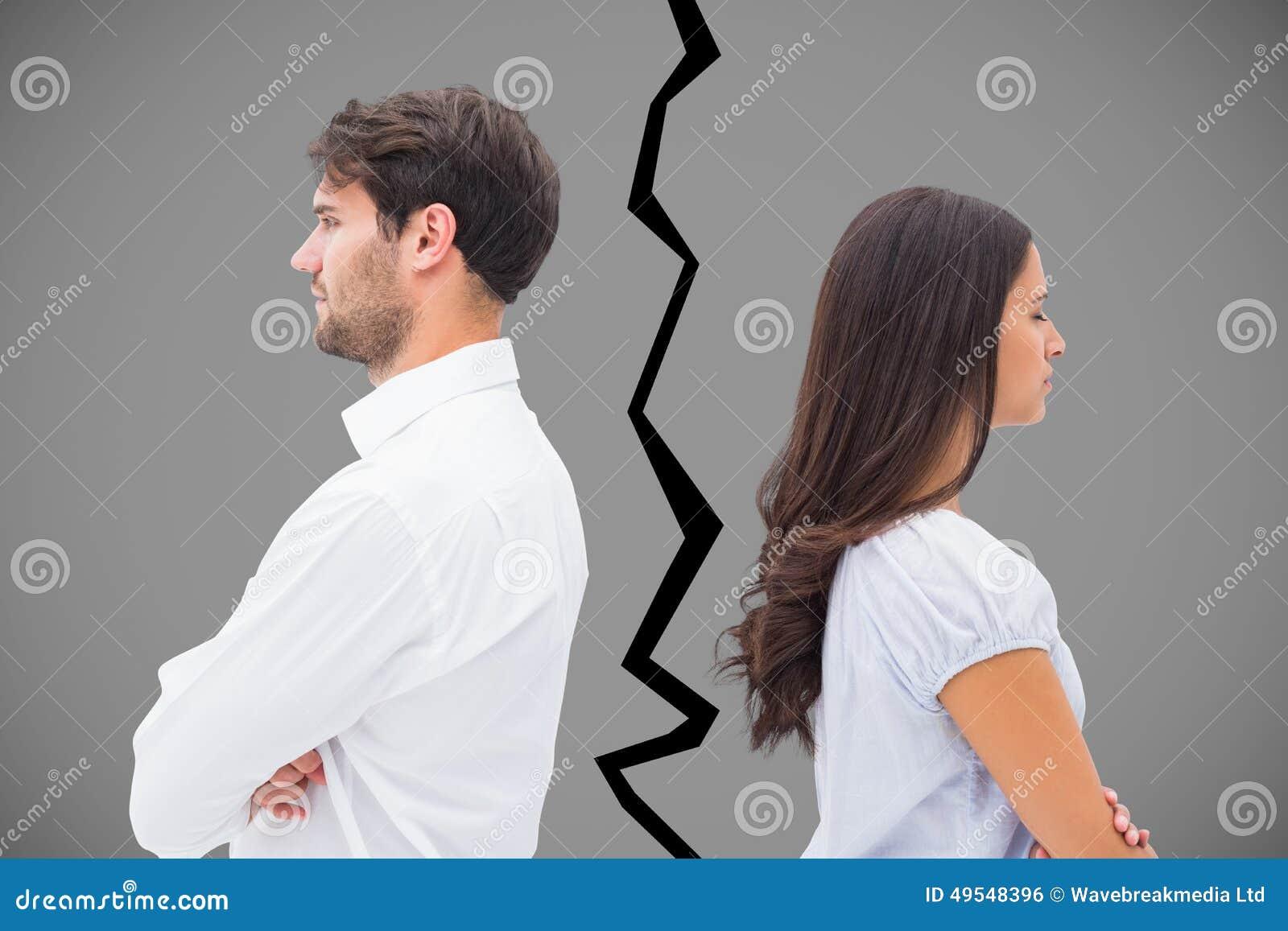 Imagem composta dos pares da virada que não falam entre si após a luta