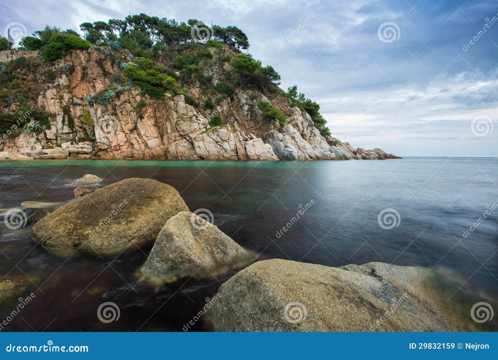 Opinião bonita do mar