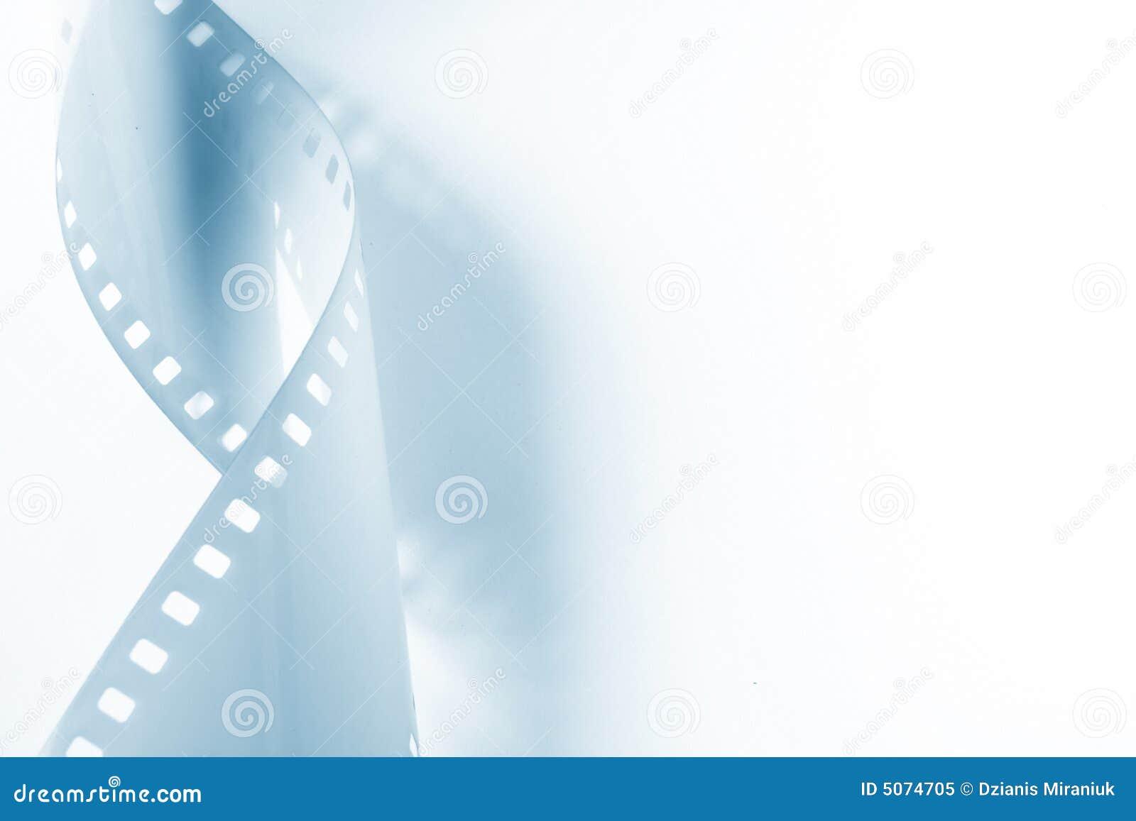 Imagem do Close-up de ondular a película de 35mm