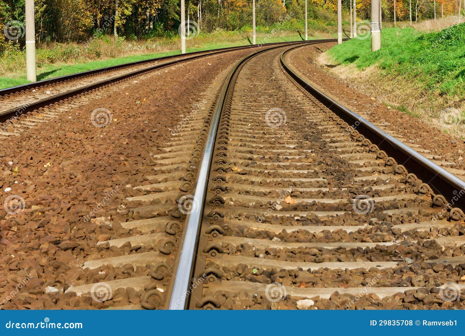 Trilha de estrada de ferro