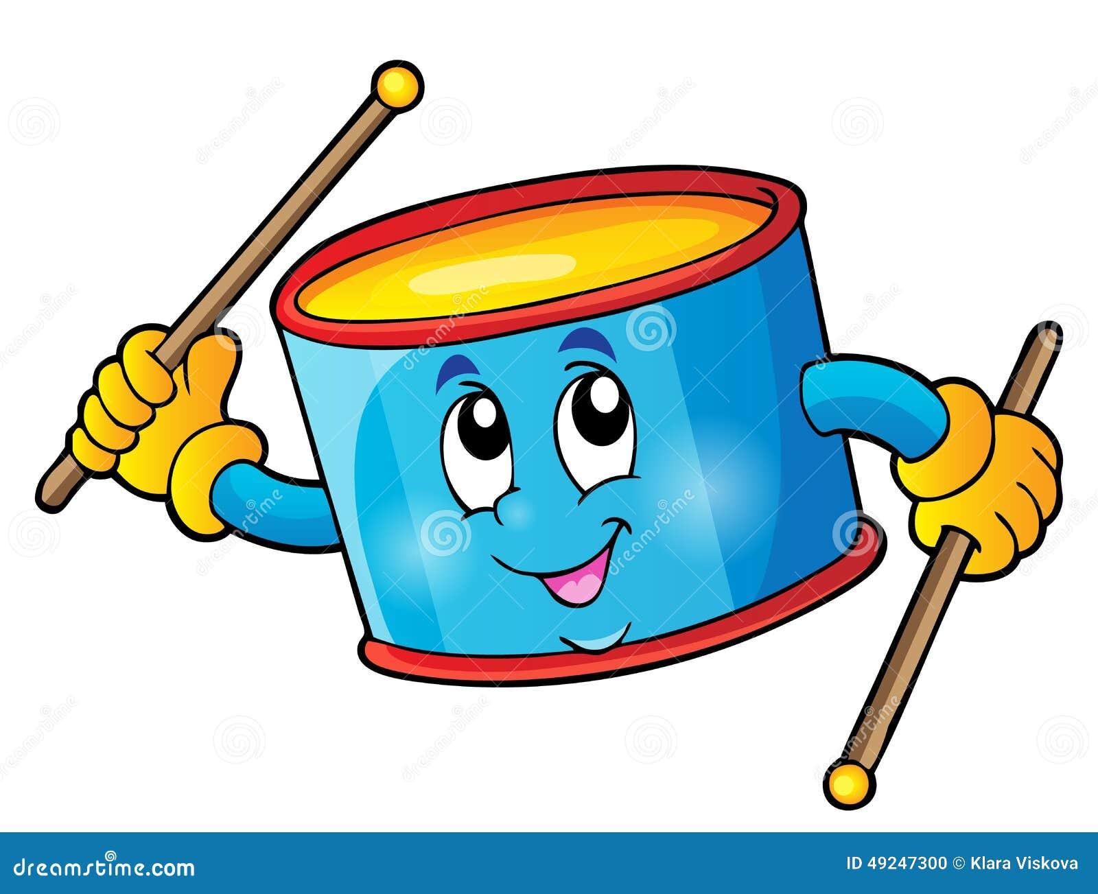 Imagem 1 do tema do cilindro da percussão