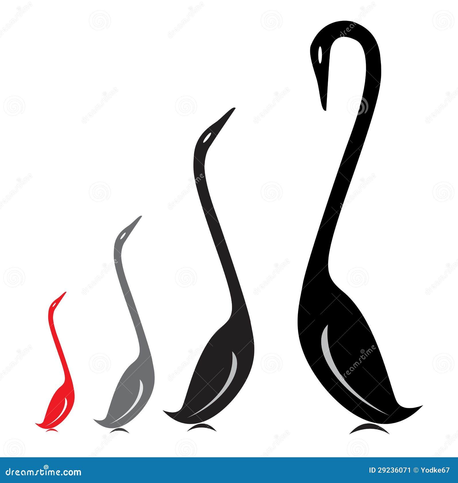 Download Imagem Do Vetor De Um Grupo De Cisnes Ilustração do Vetor - Ilustração de curva, azul: 29236071