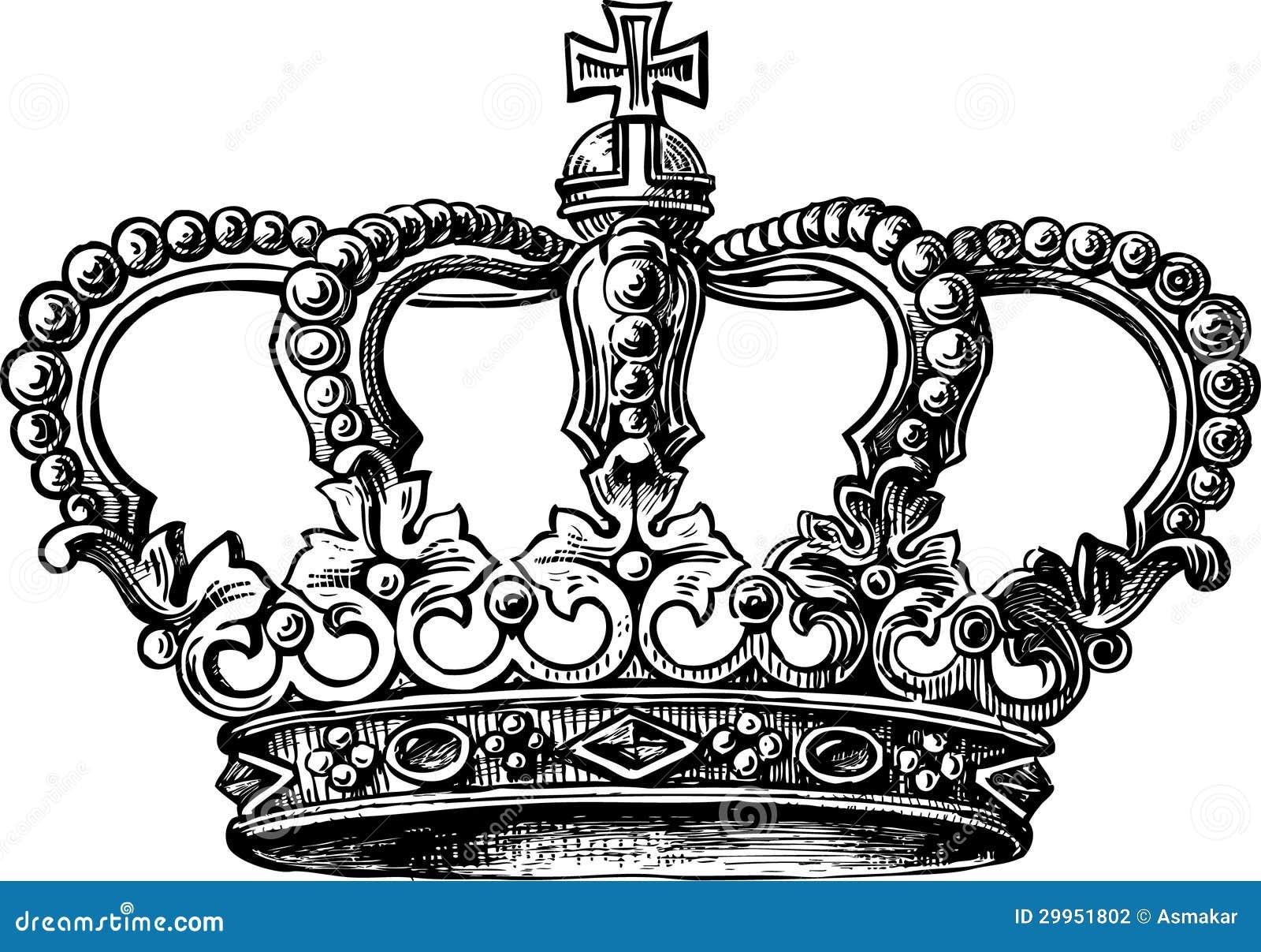 Coroa foto de stock imagem de coroa branco heraldic - Clipart couronne ...