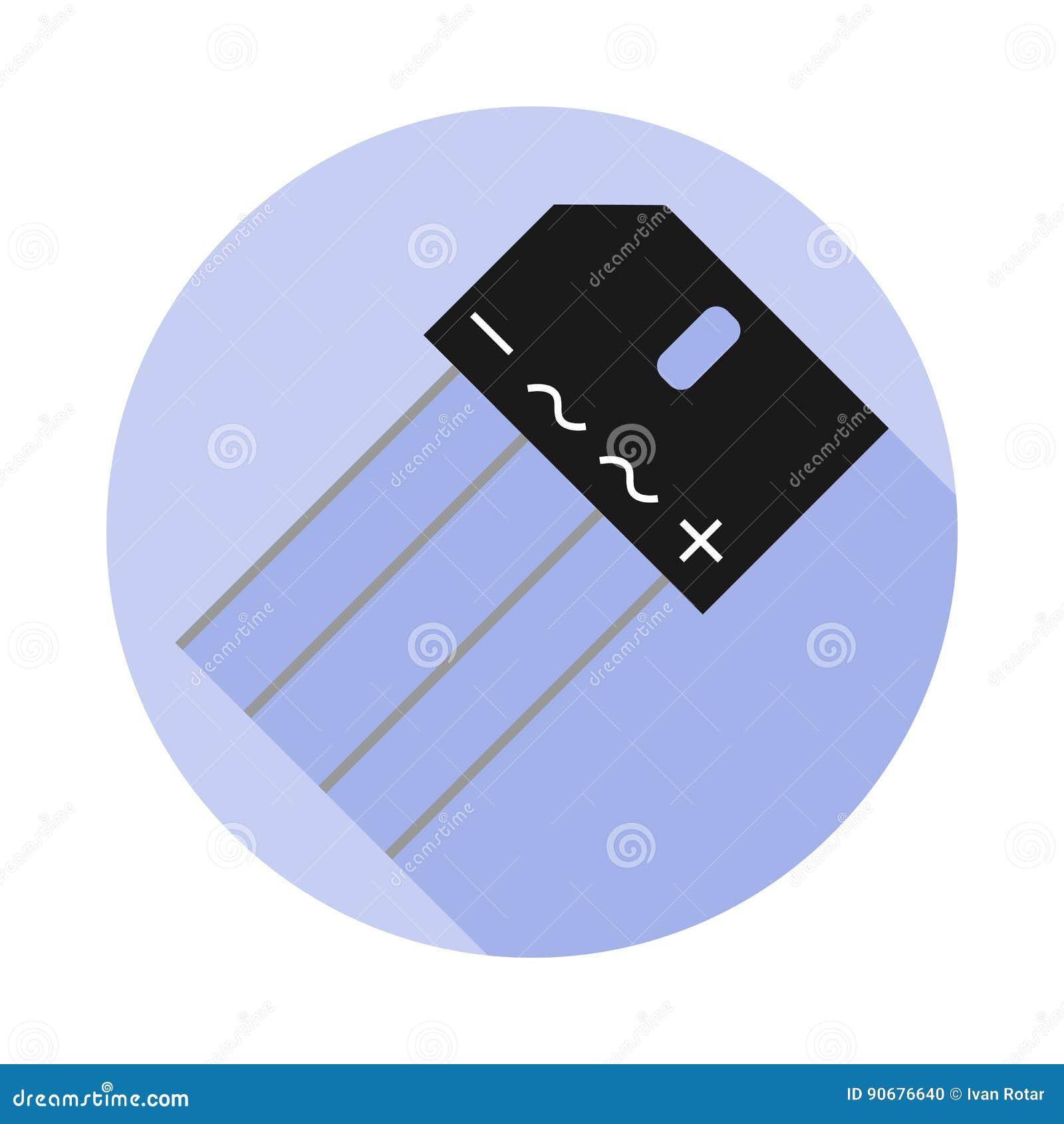 Imagem do vetor de uma ponte do diodo
