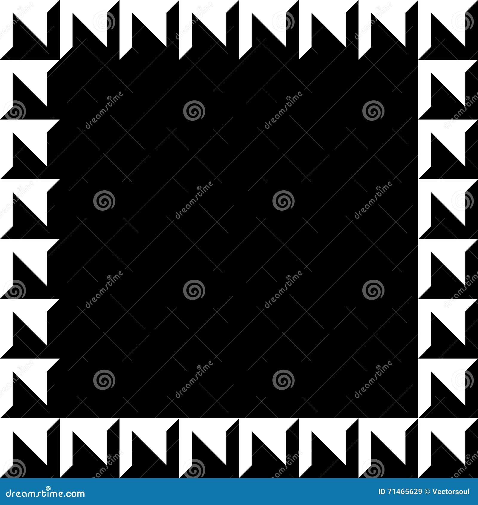 Imagem geométrica, quadro da foto no formato squarish