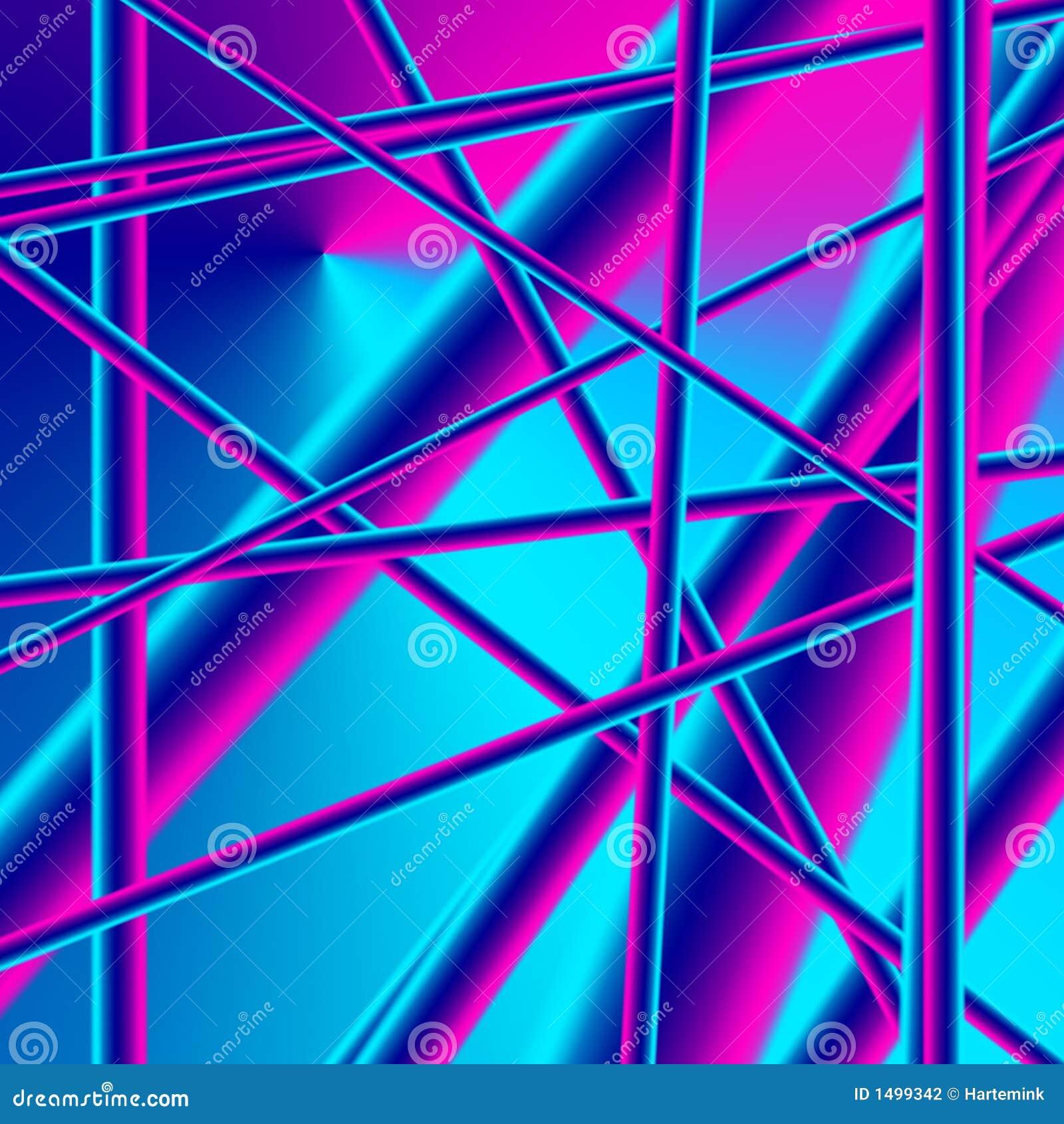 Imagen abstracta de la conectividad, de la estructura y de la complejidad