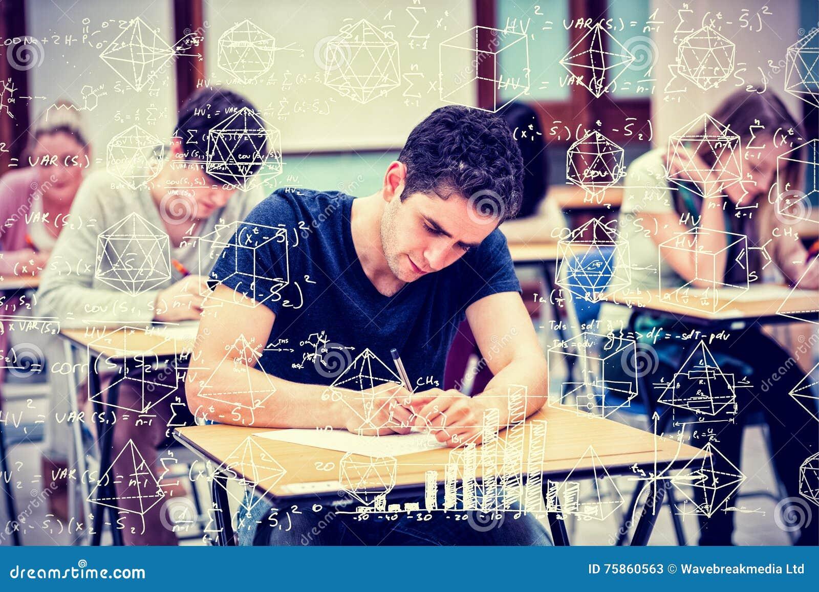 Imagen compuesta de la matemáticas